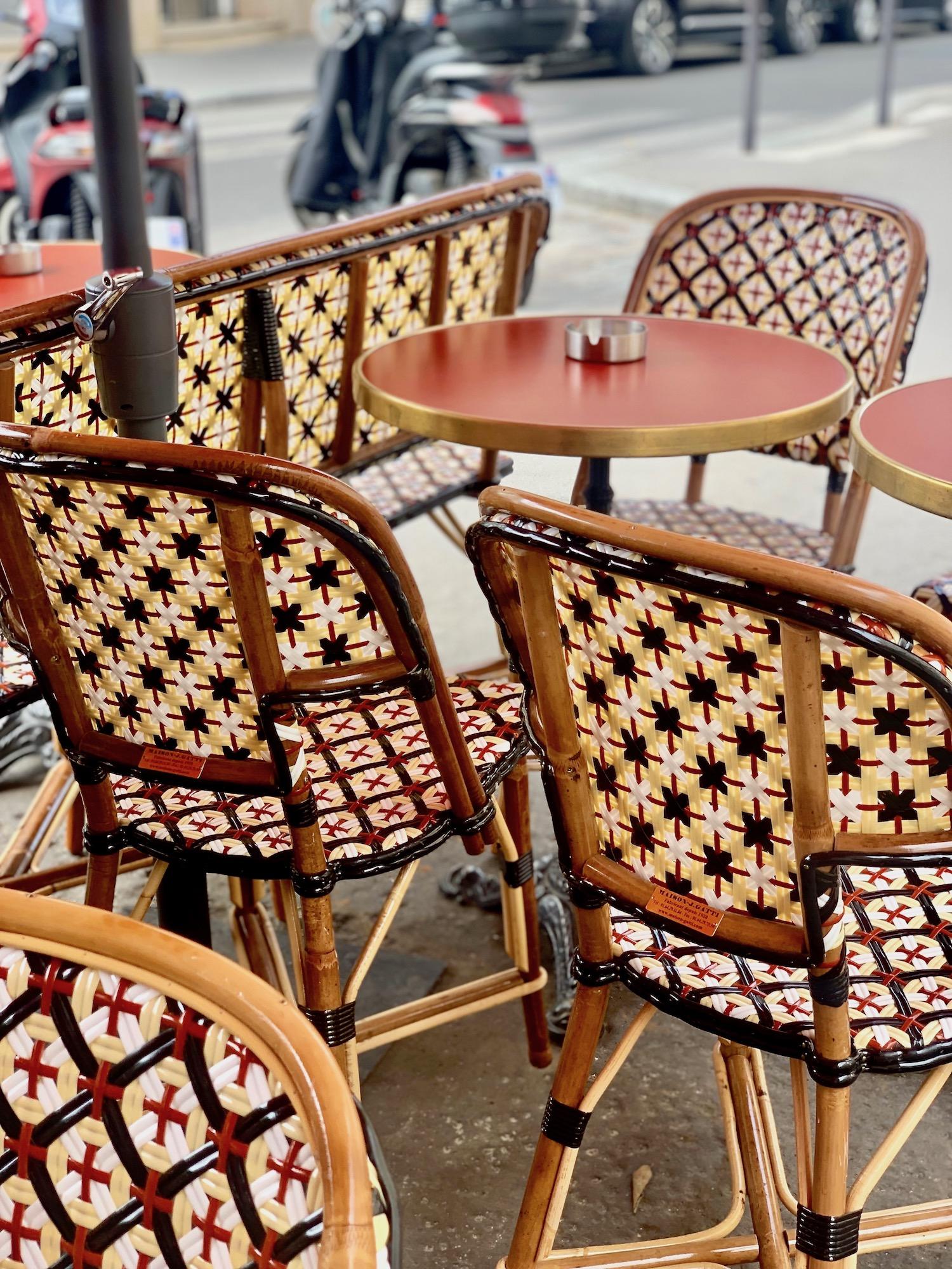 Parisian Café Chairs