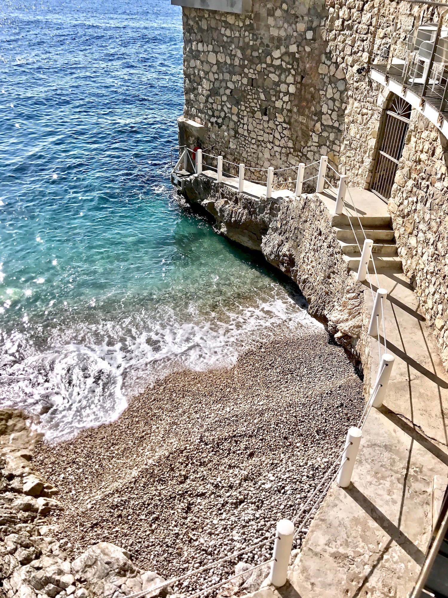 Cap Estel Beach in Eze