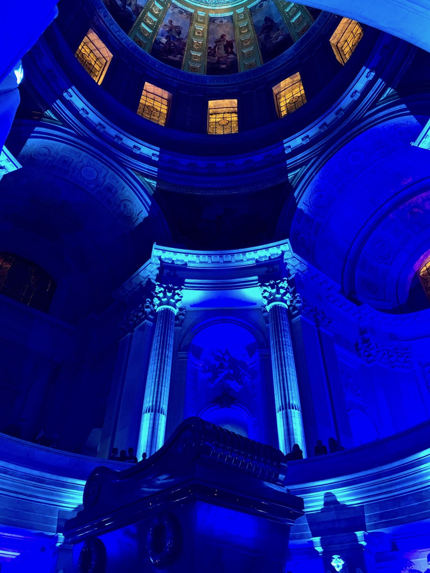 Dome Napoleon Tomb Blue