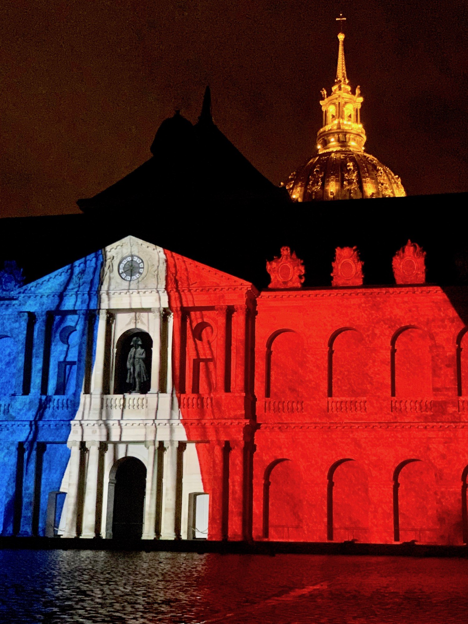 Les Invalides French Flag