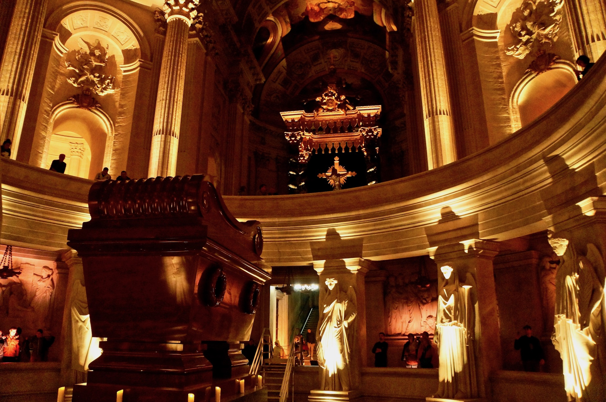 Napoleon Tomb gold