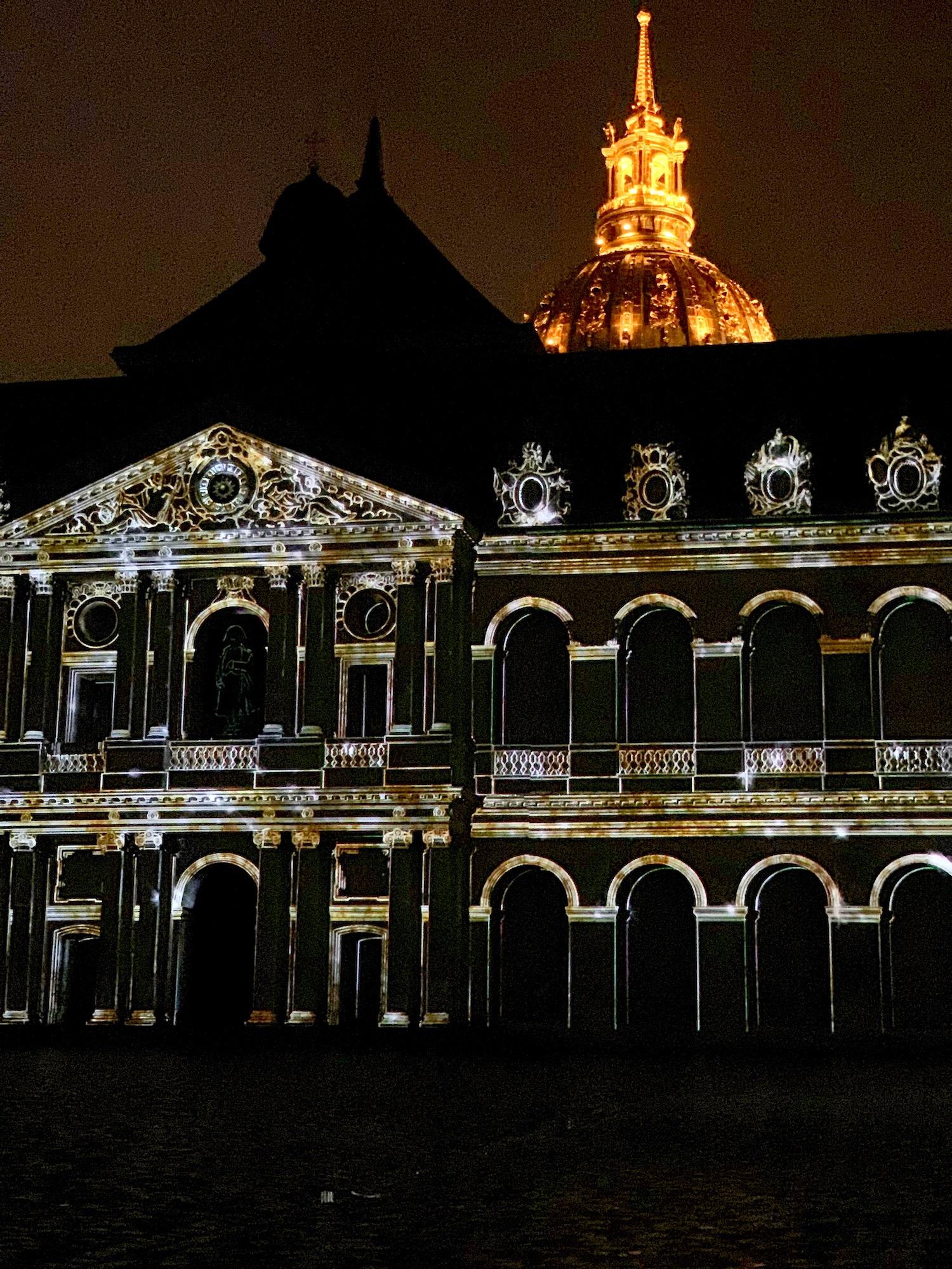 Nuit aux Invalides