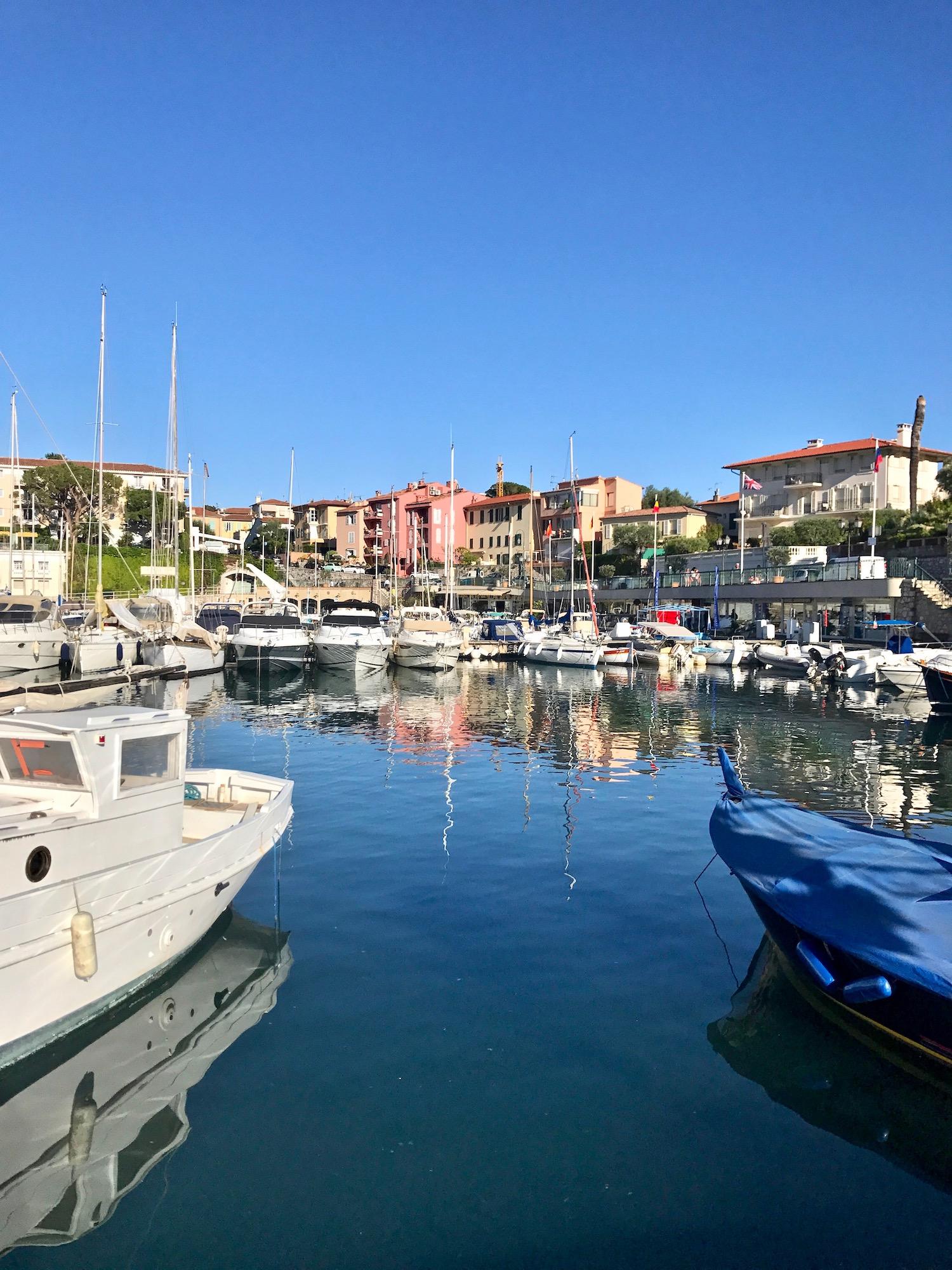 Saint-Jean-Cap-Ferrat Port Town