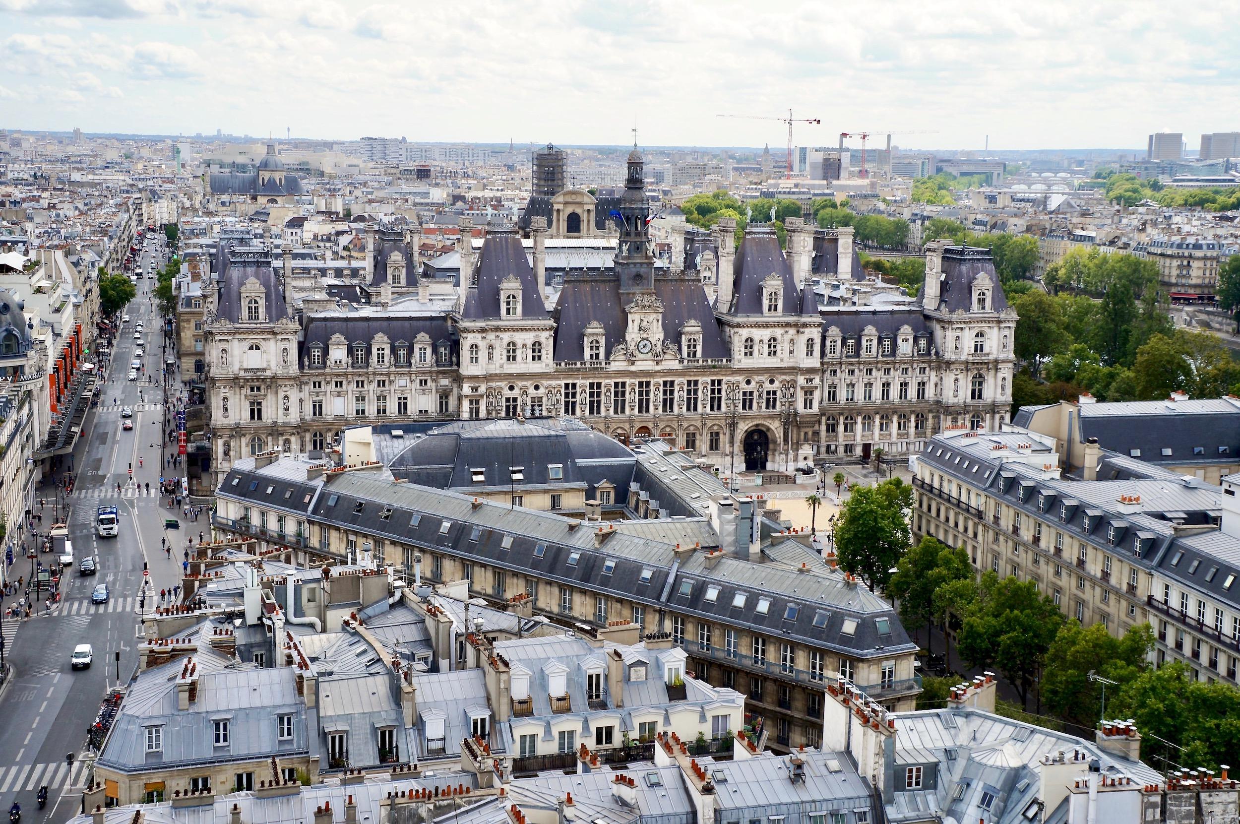 View of Hotel de Ville
