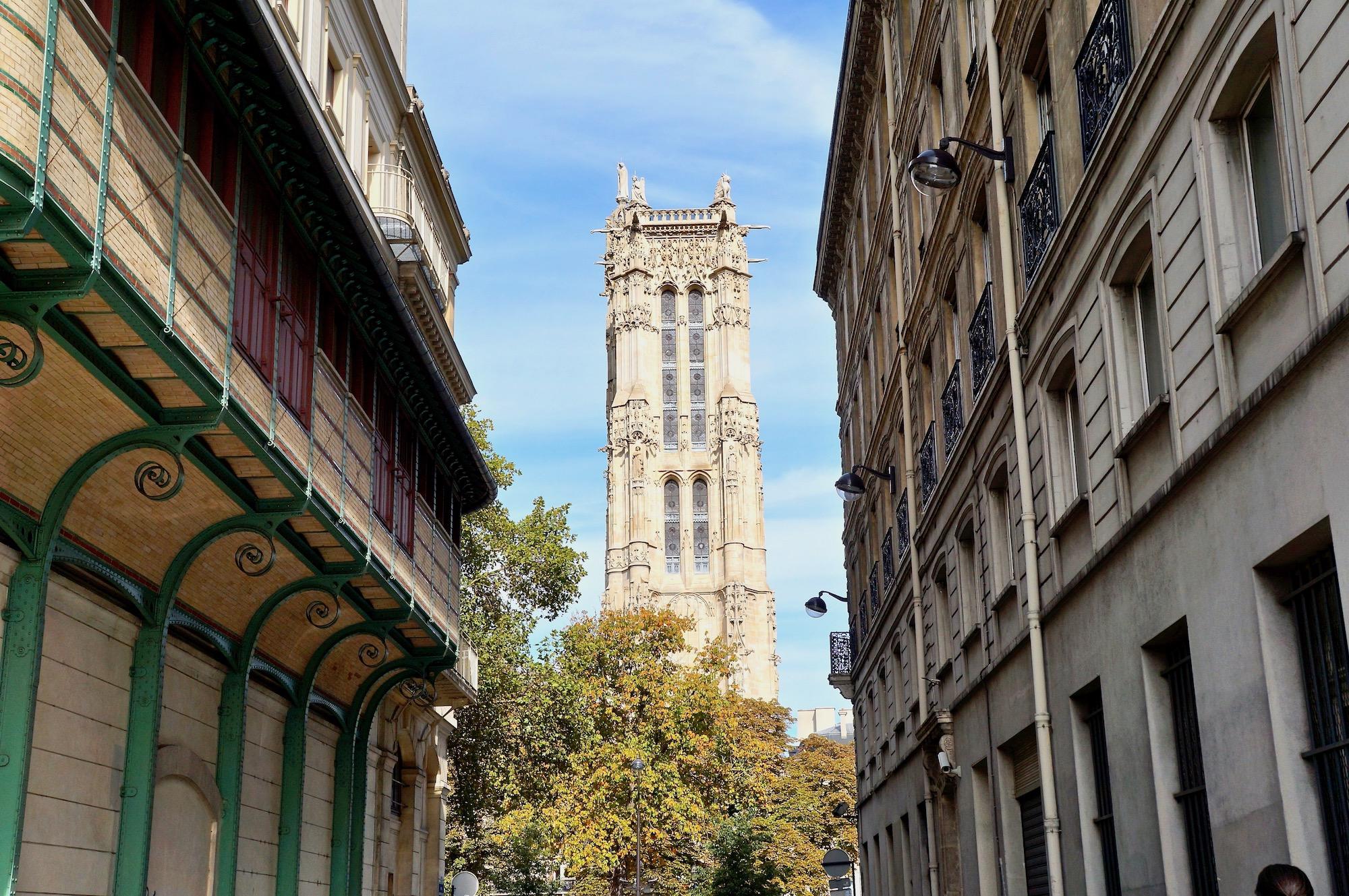 View of the Tour Saint Jacques
