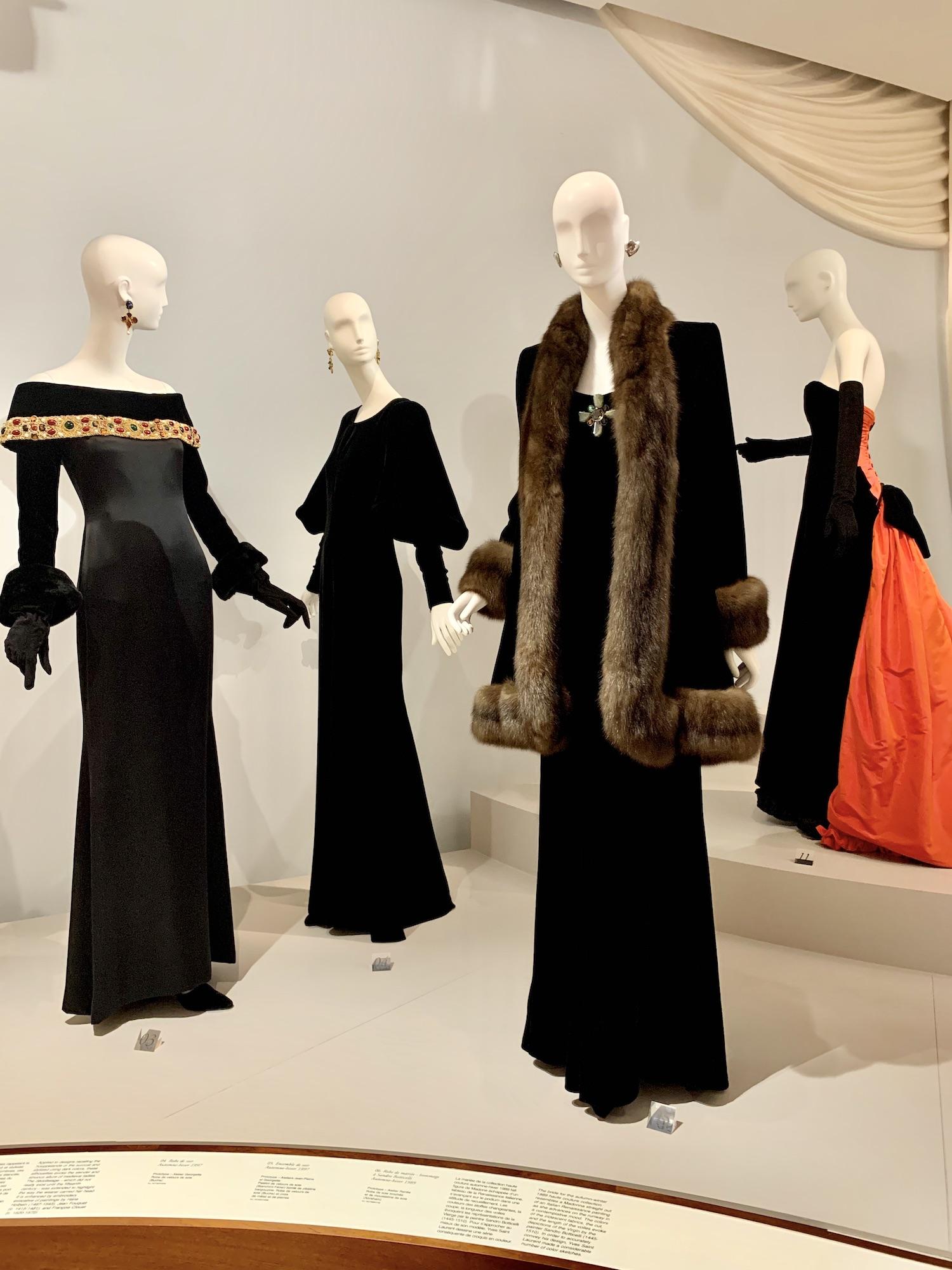 Musée Yves Saint Laurent Black Pieces