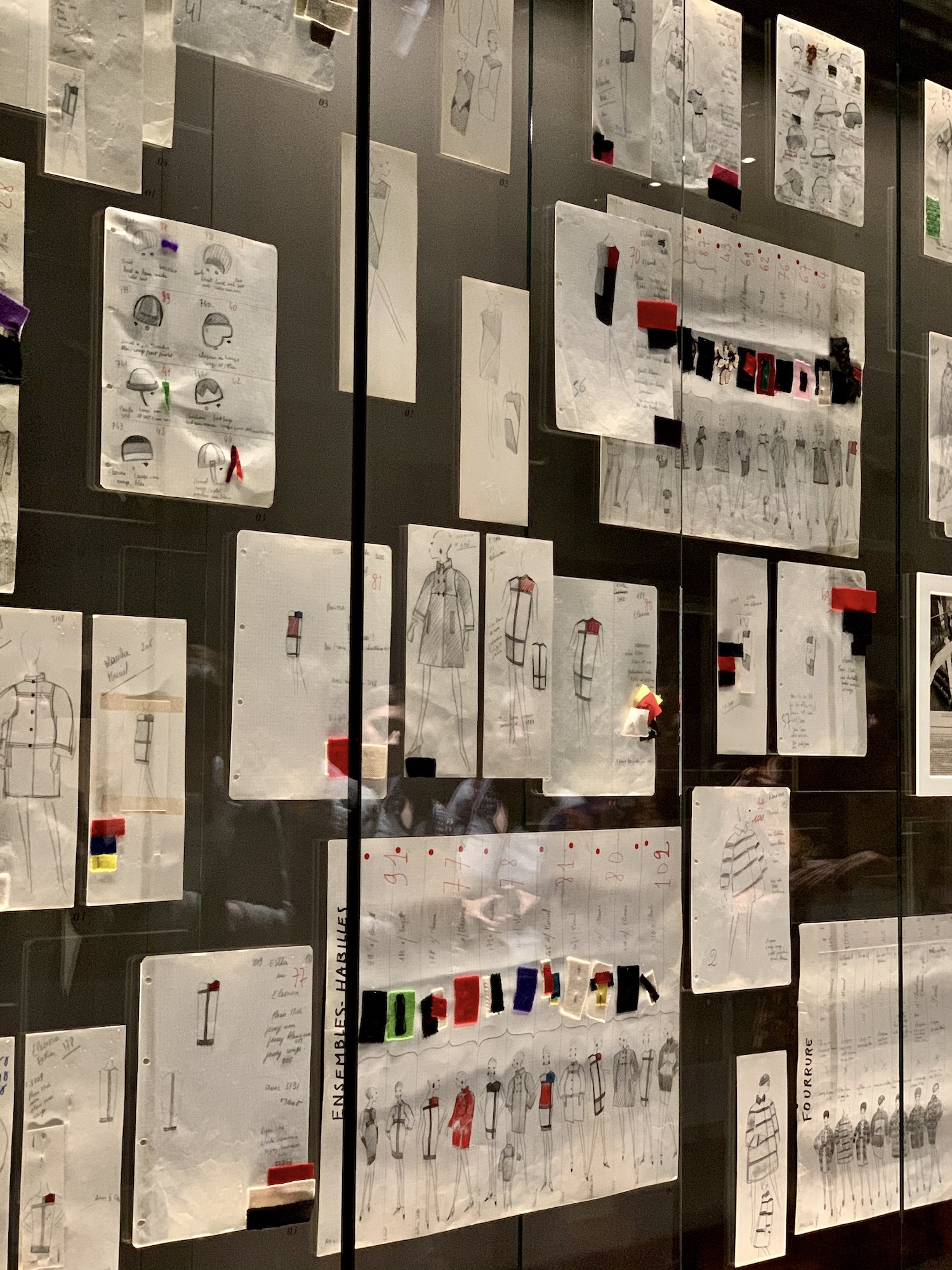 Restoration Atelier Sketches and Swatches