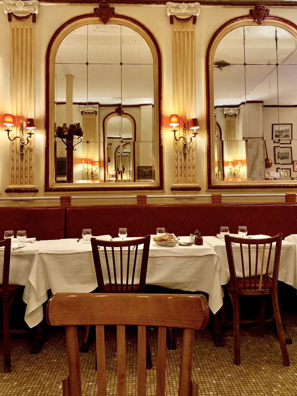 À table Chez Georges