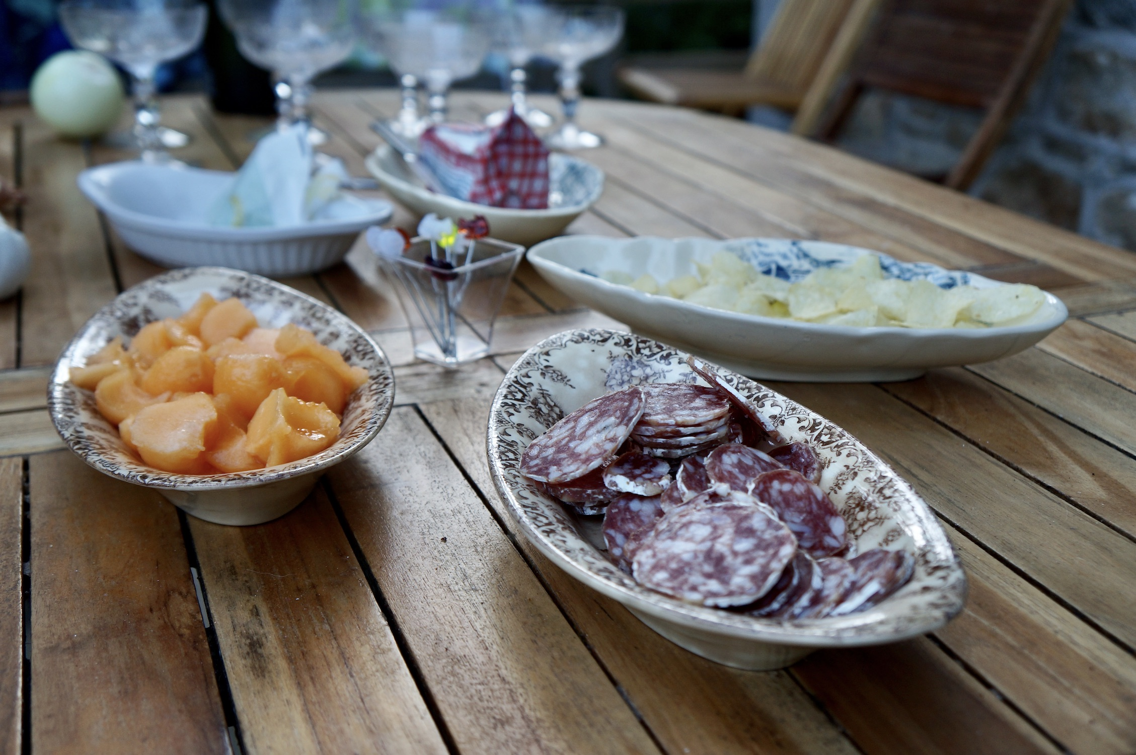American in France Normandy Appetizers