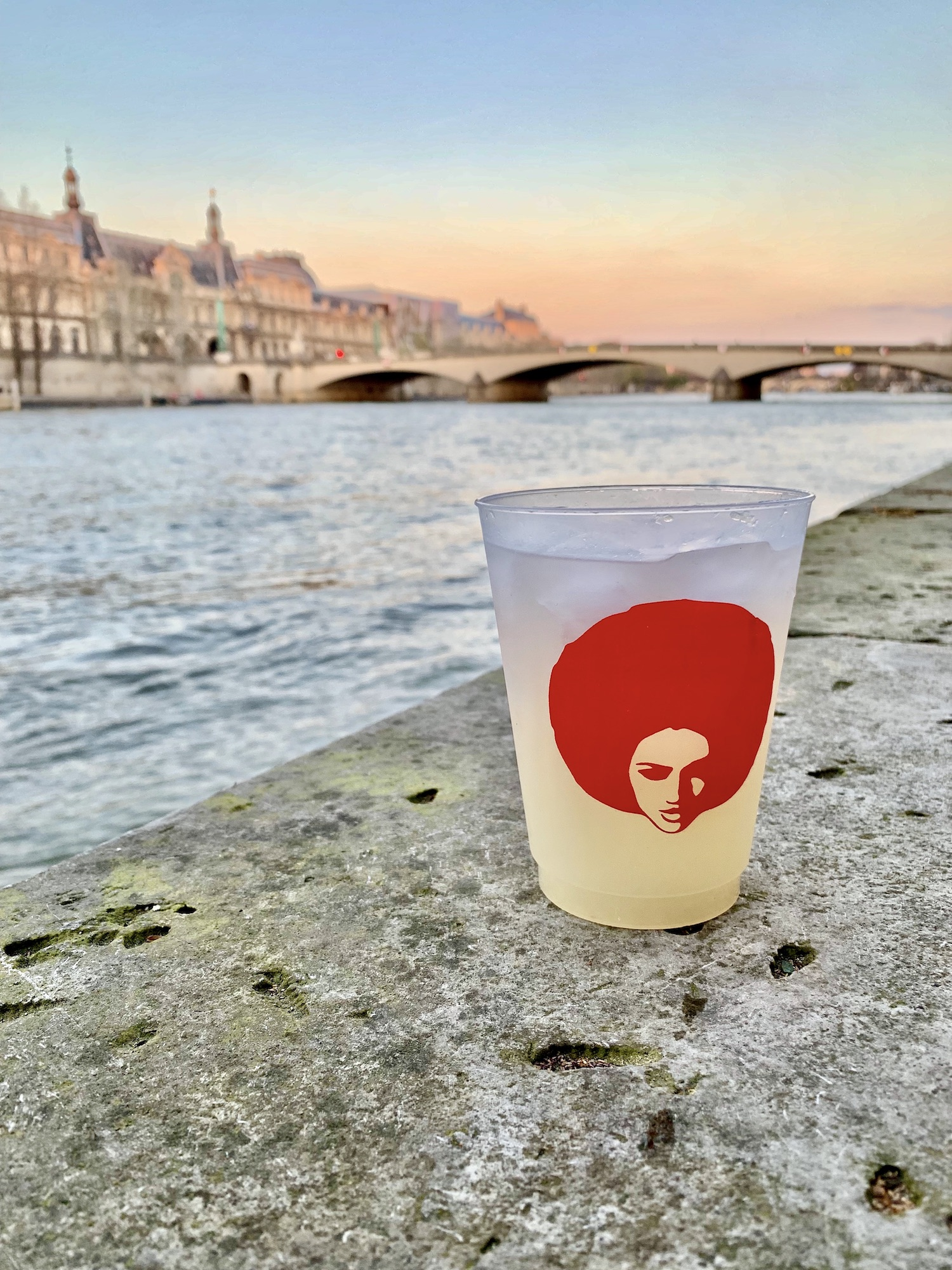 Margarita by the Seine