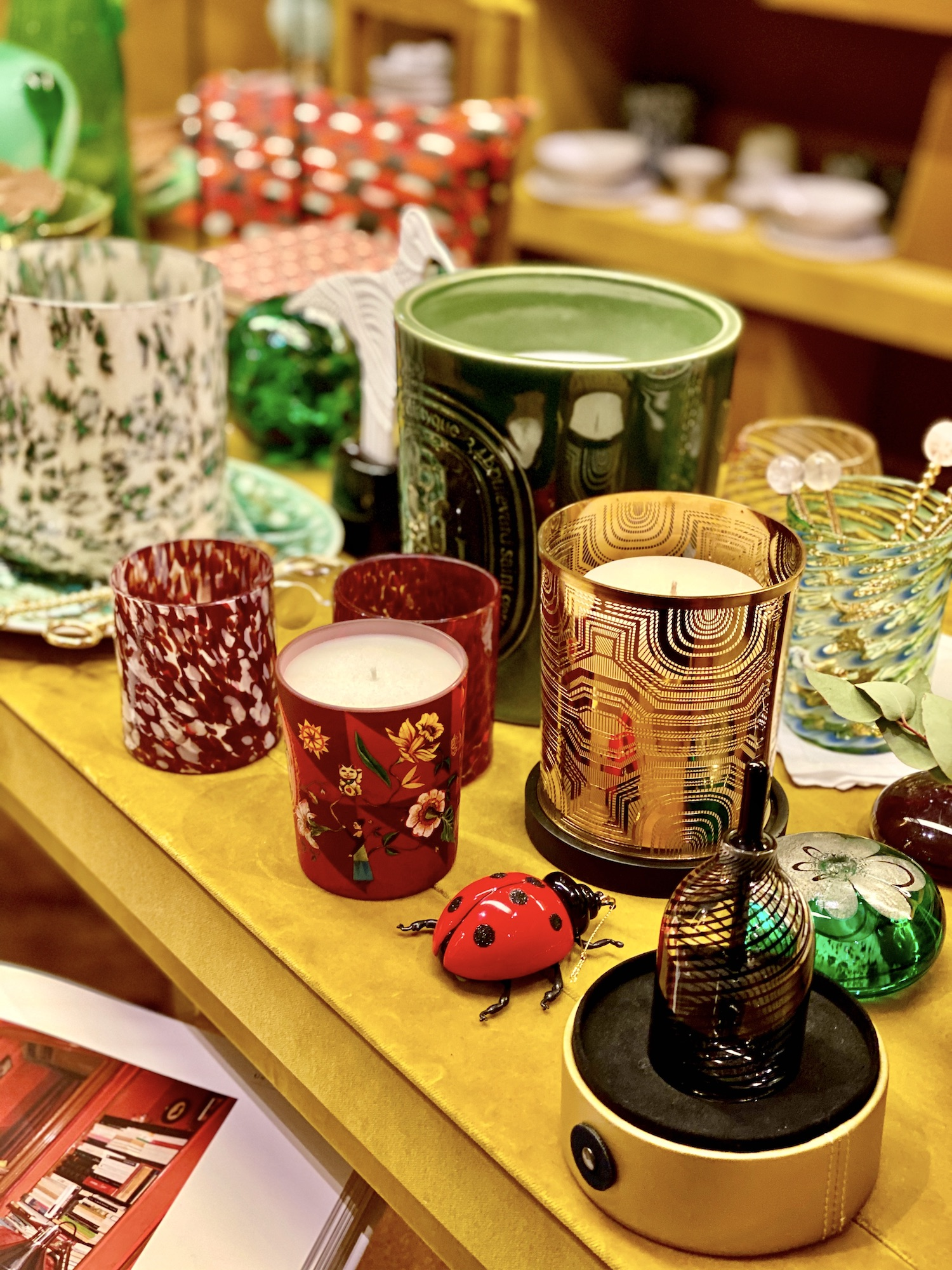 Diptyque Bazar candles
