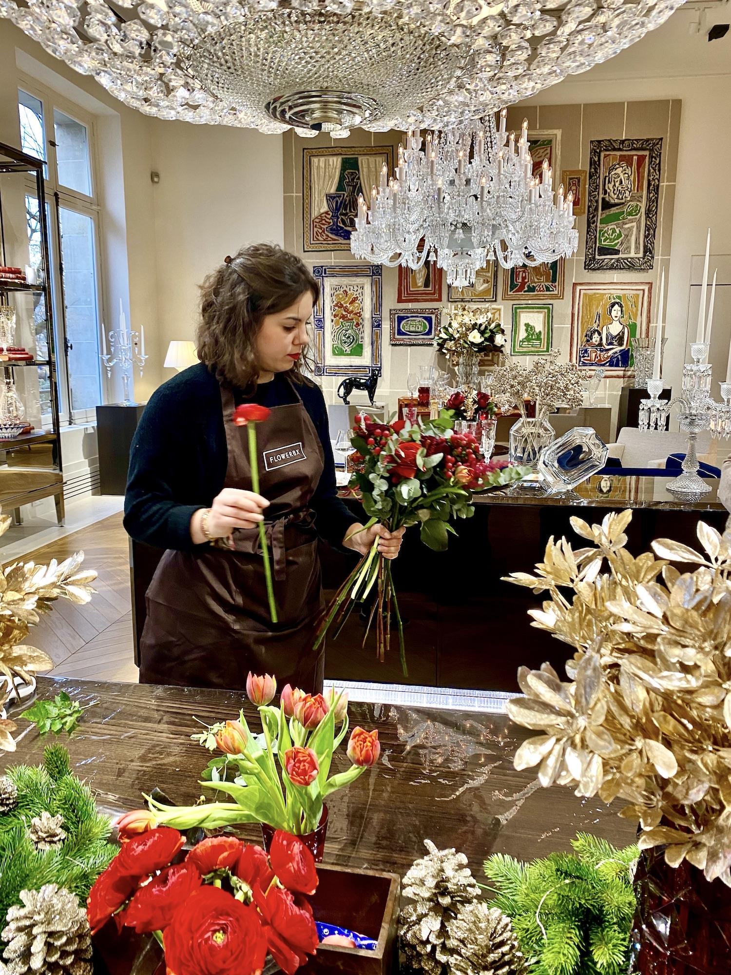 Flowerbx Baccarat Flower Atelier