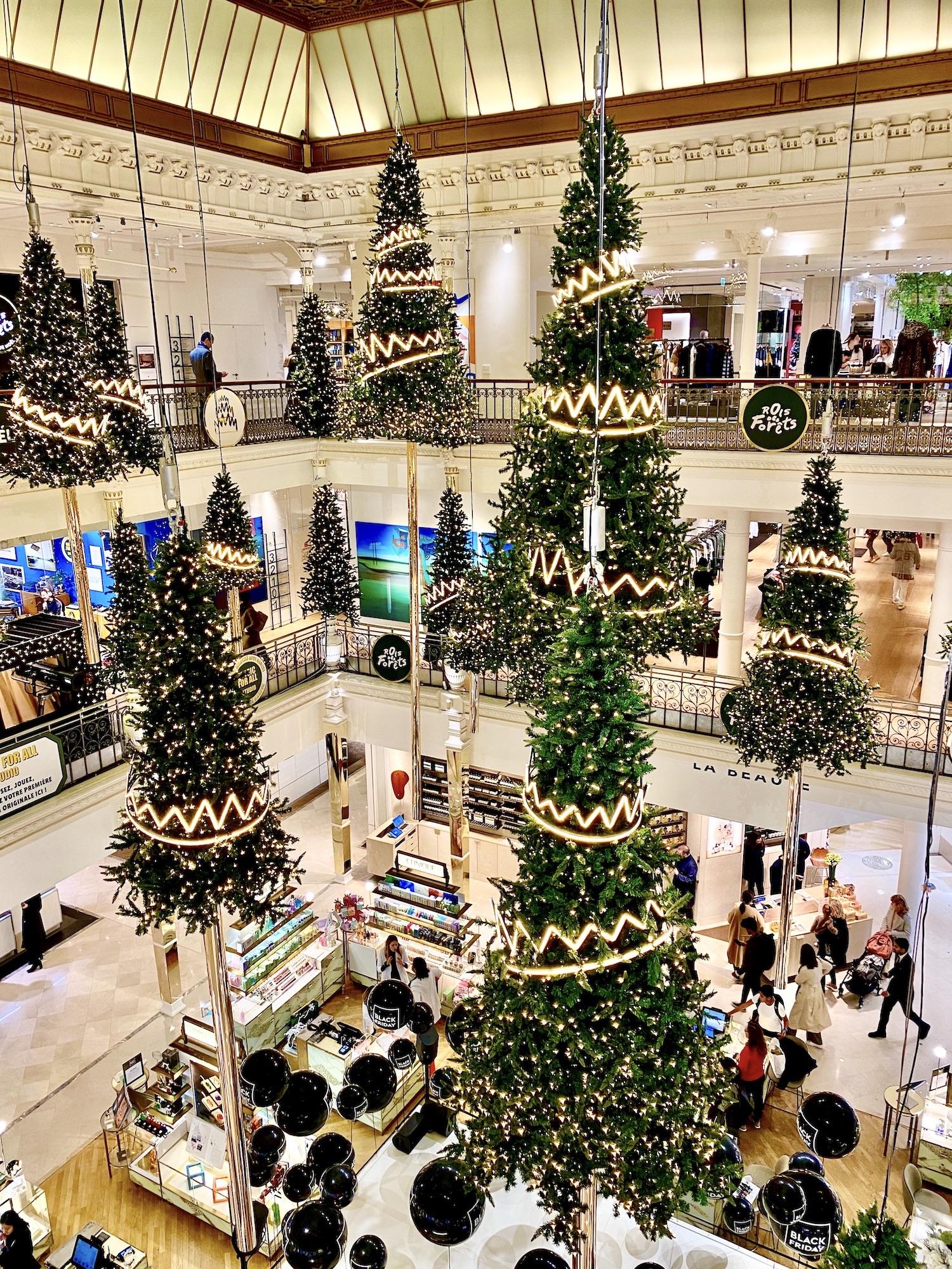 Christmas in Paris Bon Marché