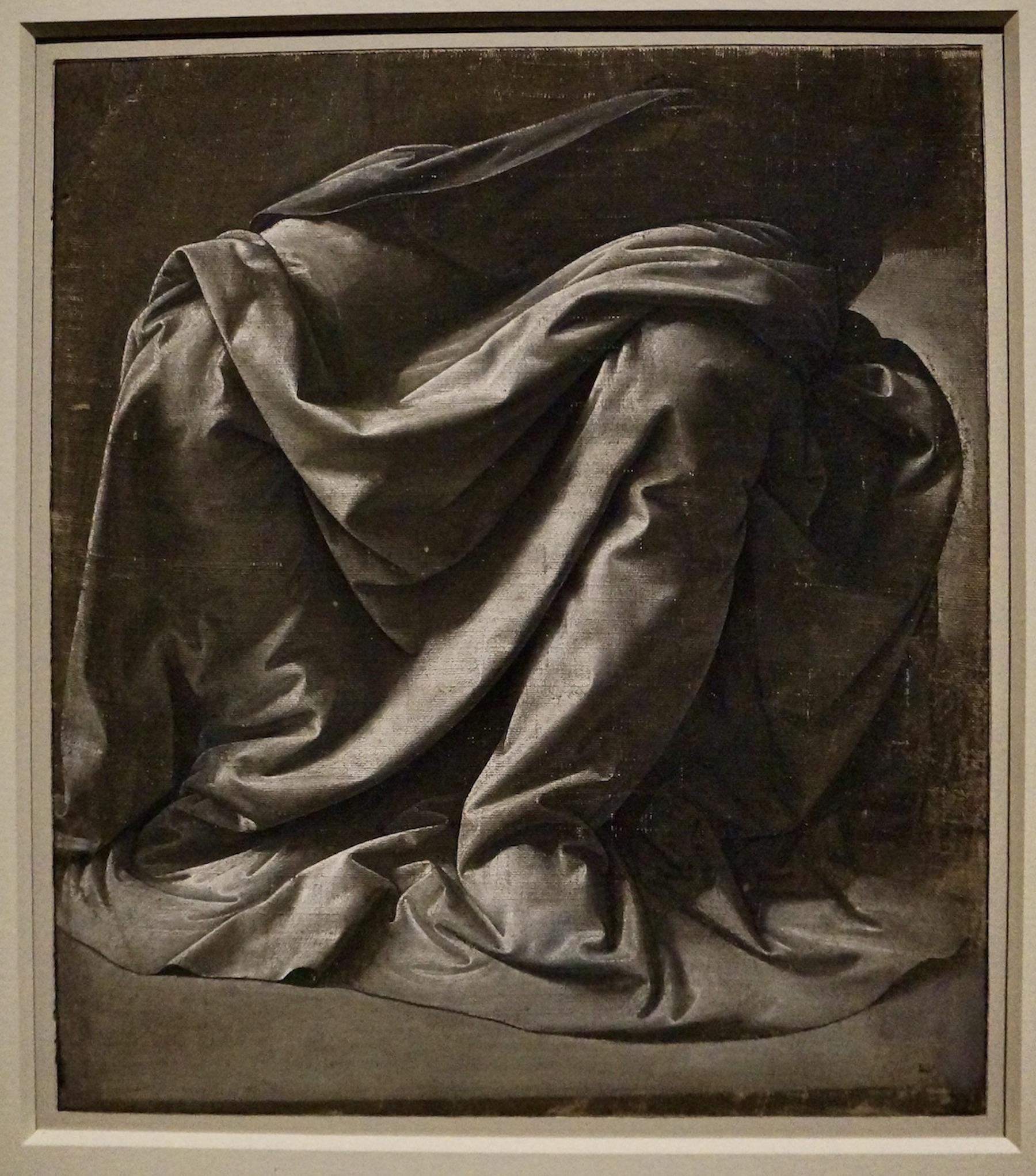 Da Vinci Louvre detail sketch
