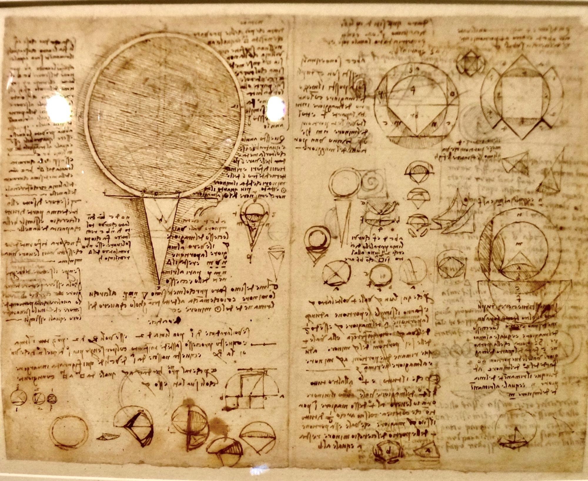 Da Vinci Louvre Sketch