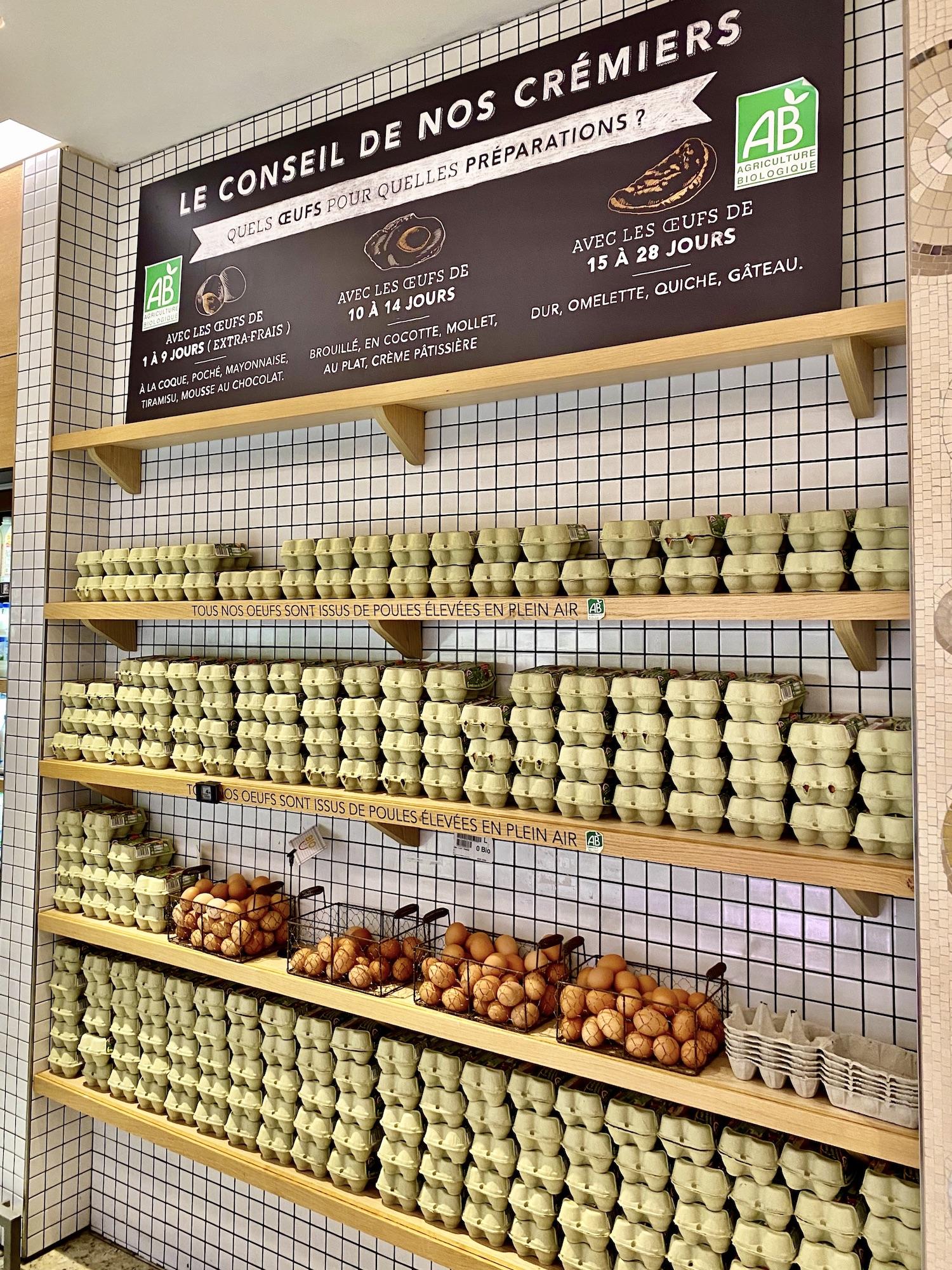 La Grande Epicerie Egg Age Five Friday Finds from France