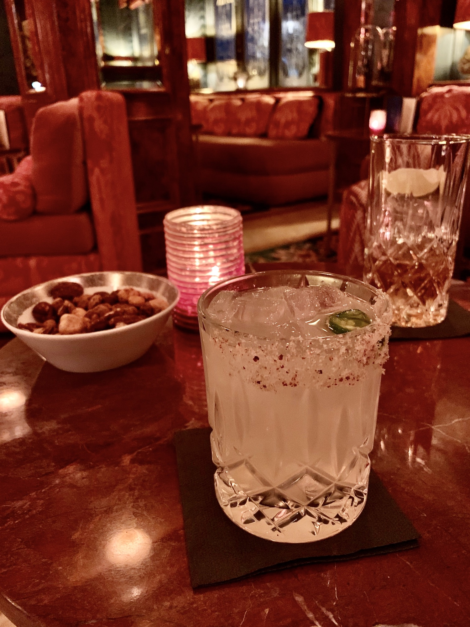 Lapérouse's spicy margarita is my favorite in Paris