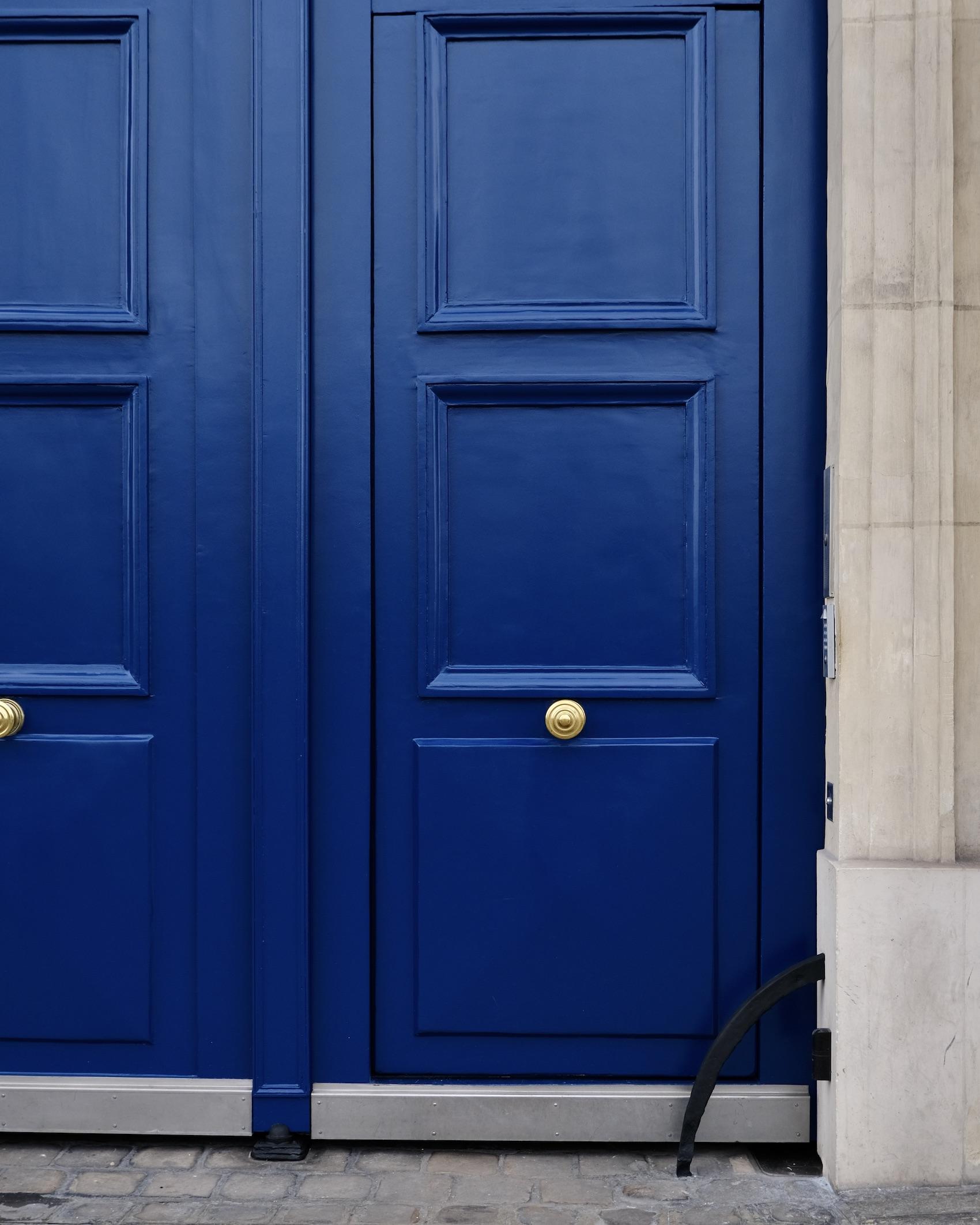 Paris Blue Door