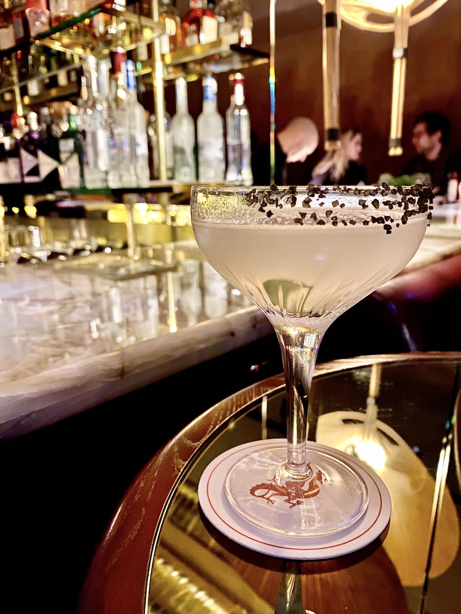 Margarita at Cyril Lignac's Dragon Bar
