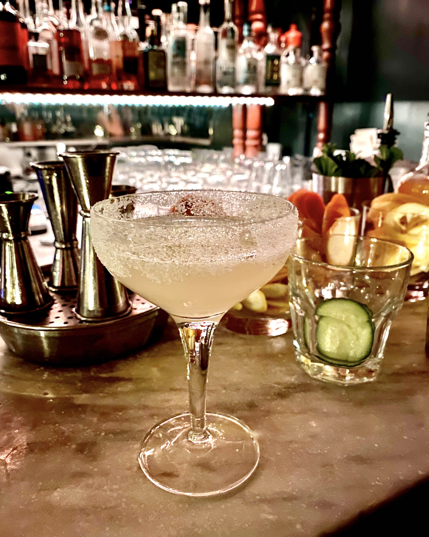 Five Friday Finds from France - Margarita at Prescription Cocktail Club on the Left Bank