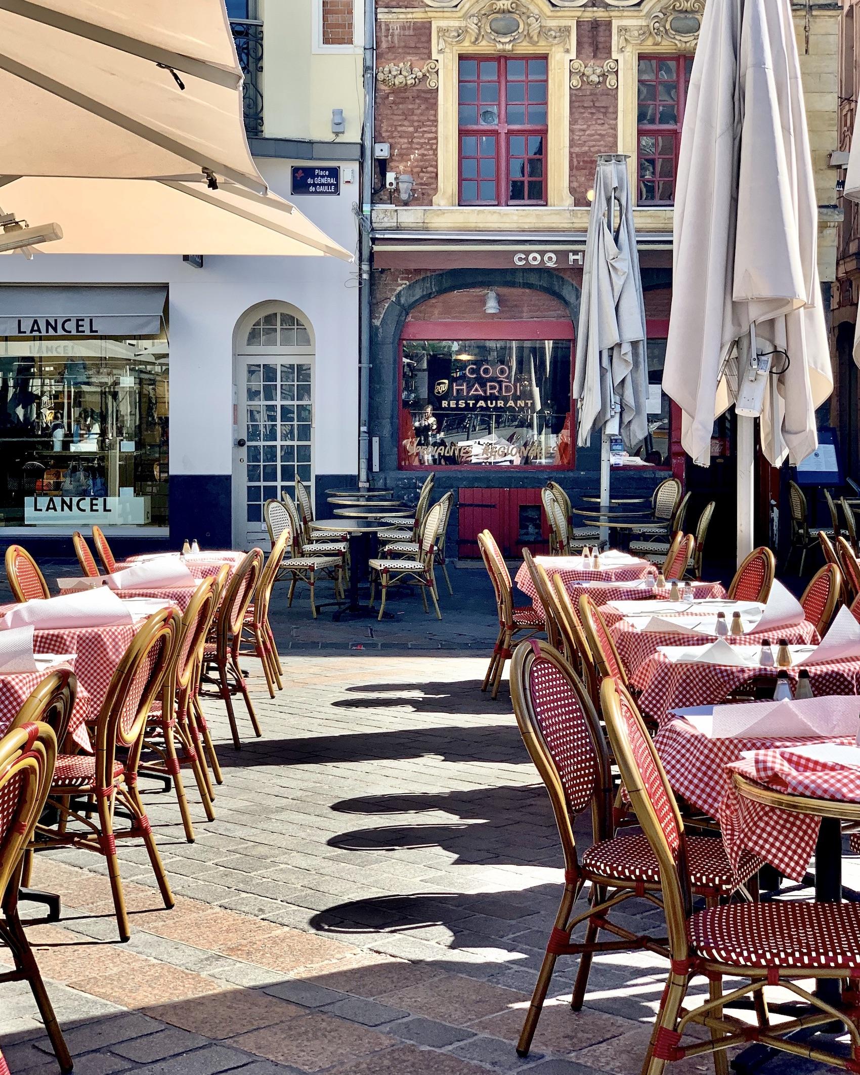 La Grand'Place Lille Terrassse