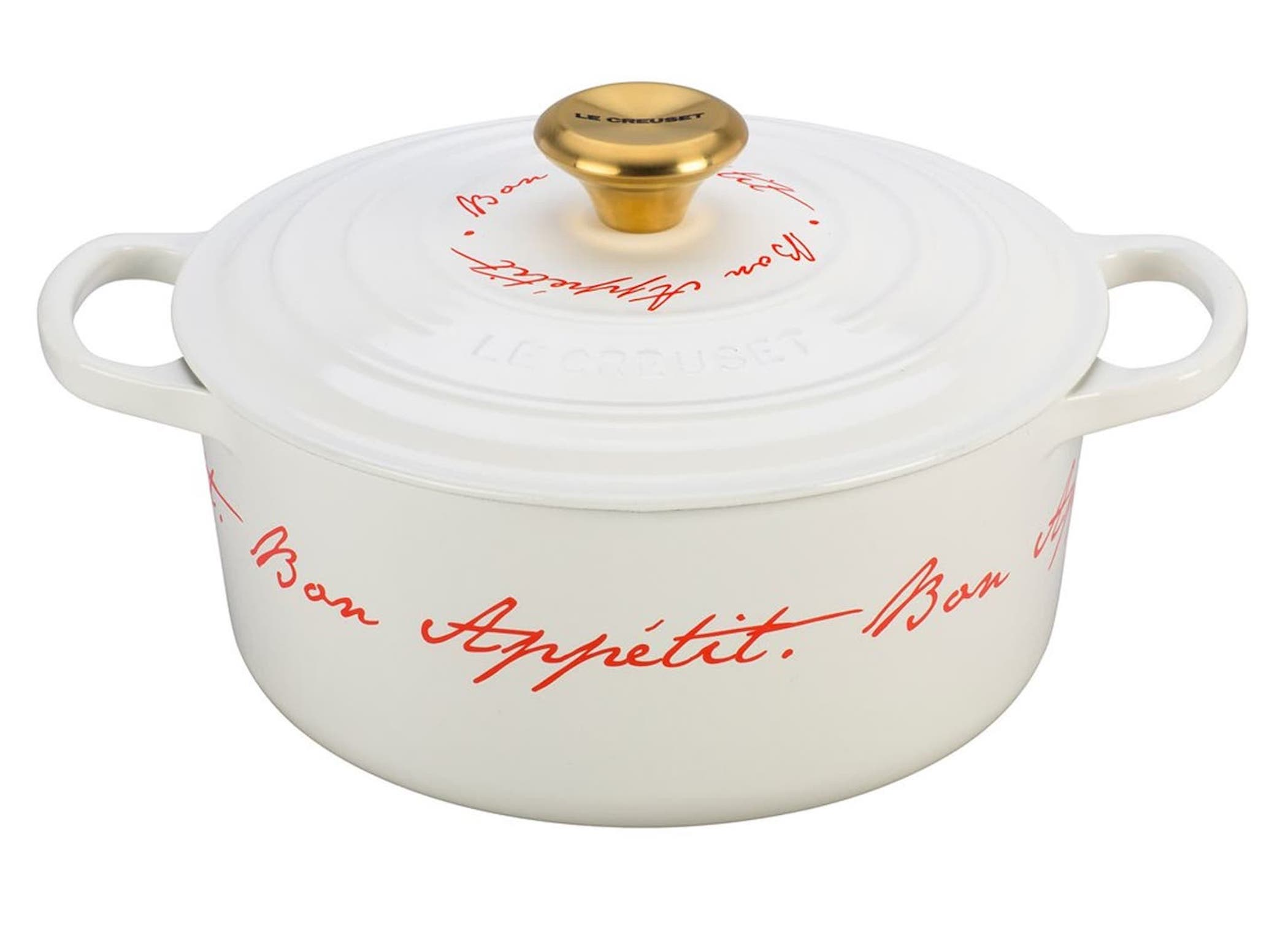 Valentine's Day Gift Ideas for Francophiles Le Creuset Bon Appetit Dutch Oven