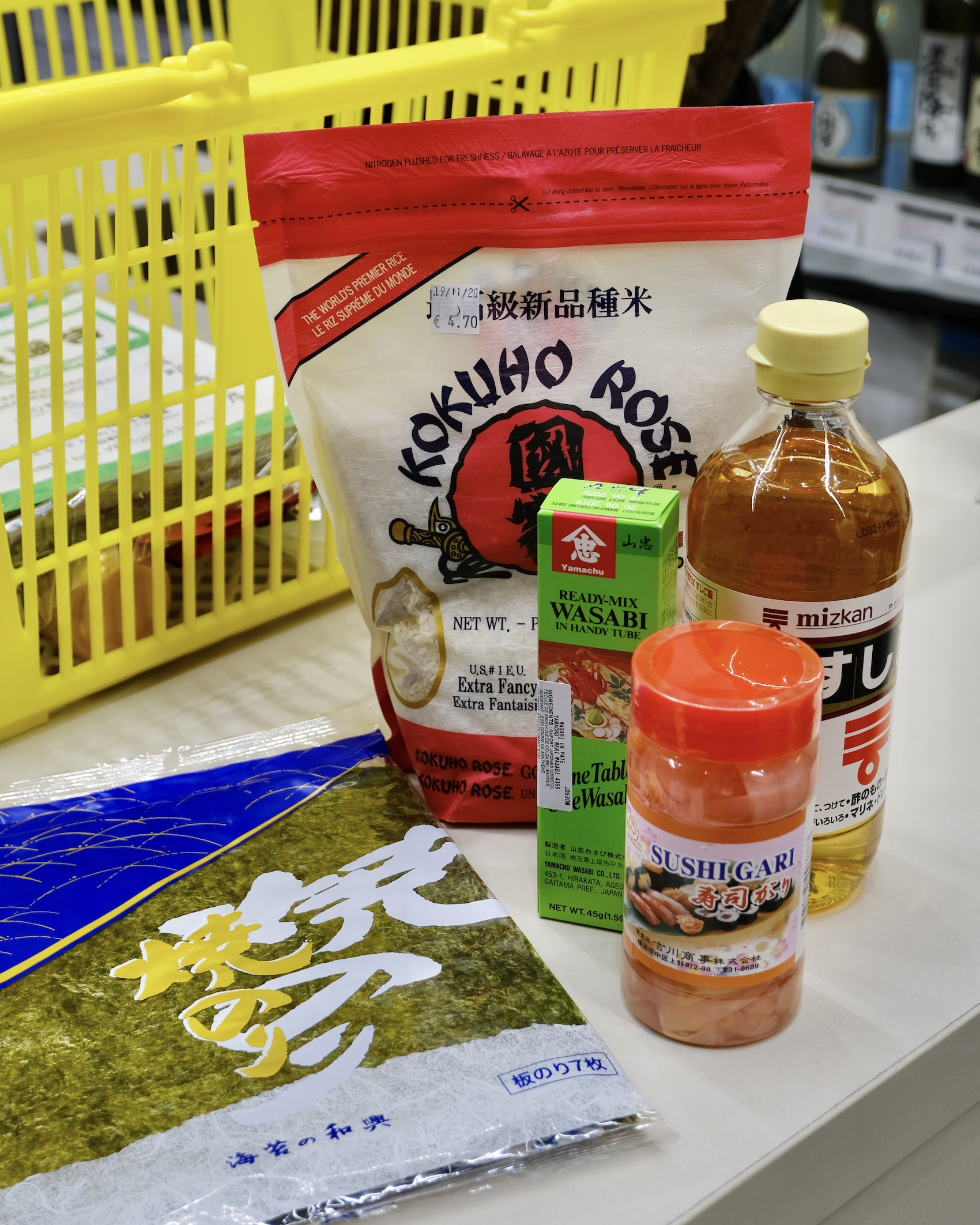 Asian Grocery Store Five Friday Finds from France