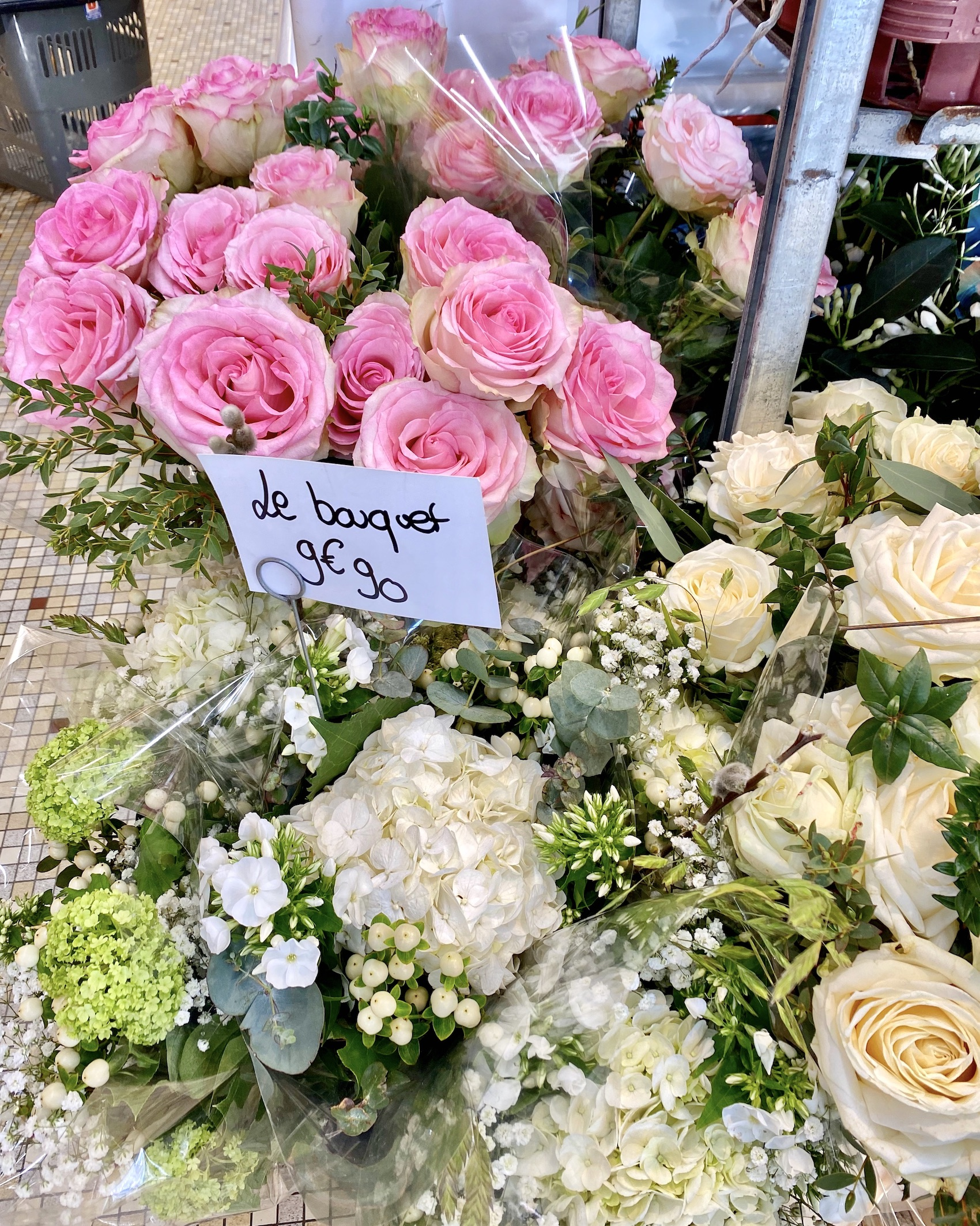Five Friday Finds from France Normandy Grocery Store Roses