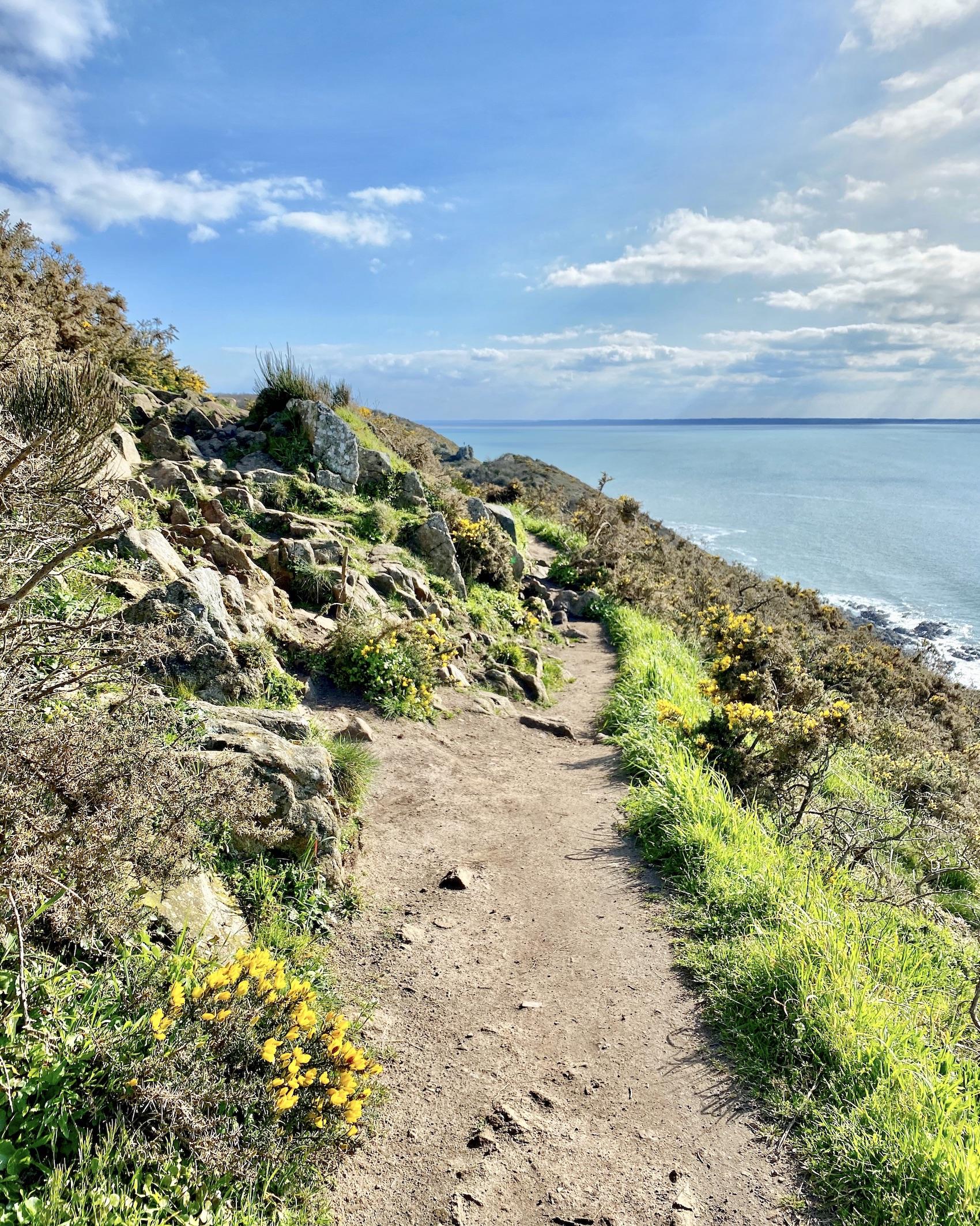 Carolles Normandy Hike