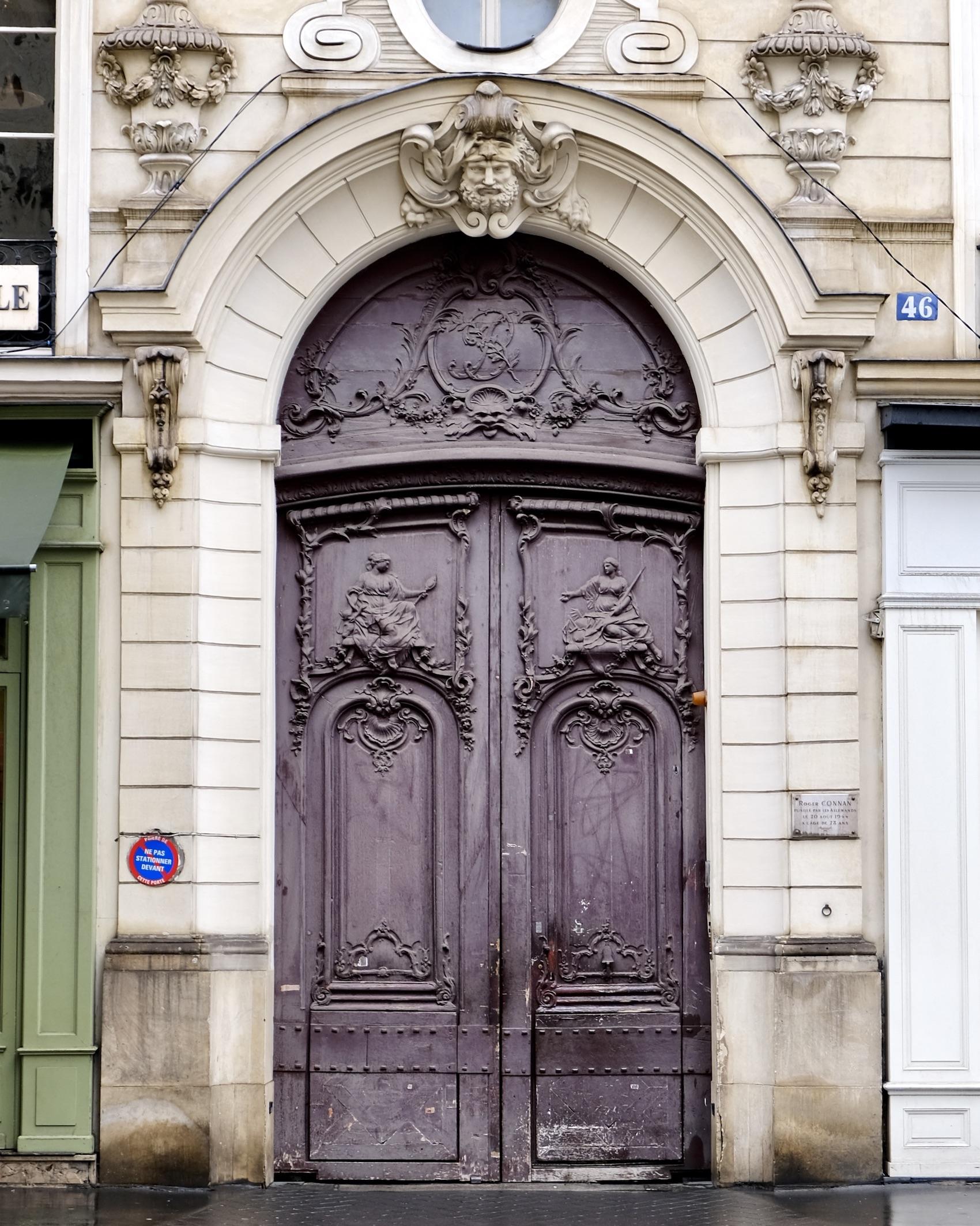 Five Reasons to Take a Solo Trip to Paris purple door