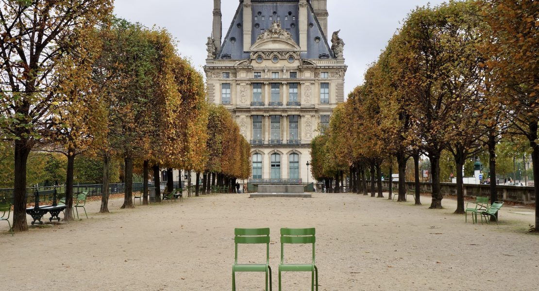 tuileries at fall