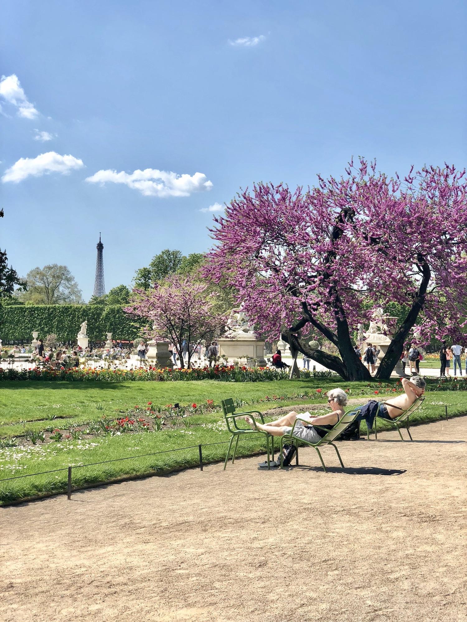 April in Paris Spring