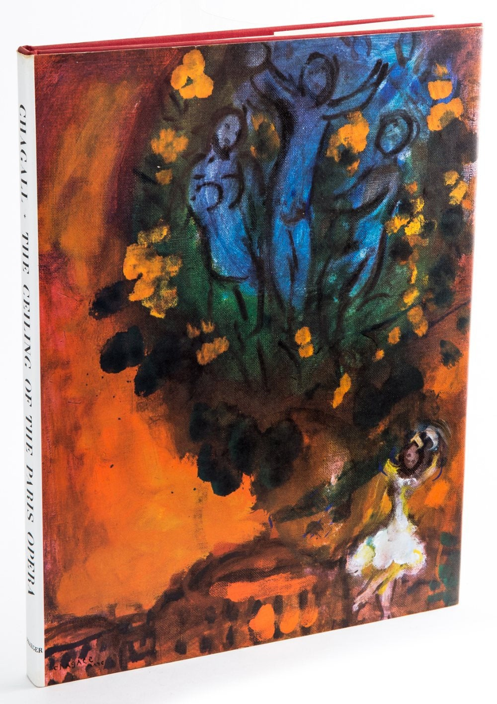 Favorite Coffee Table Books about France Marc Chagall The Ceiling of the Paris Opera Book