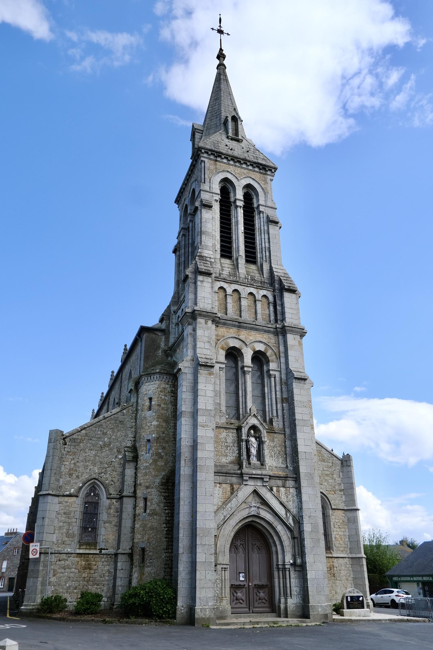 Sartilly church
