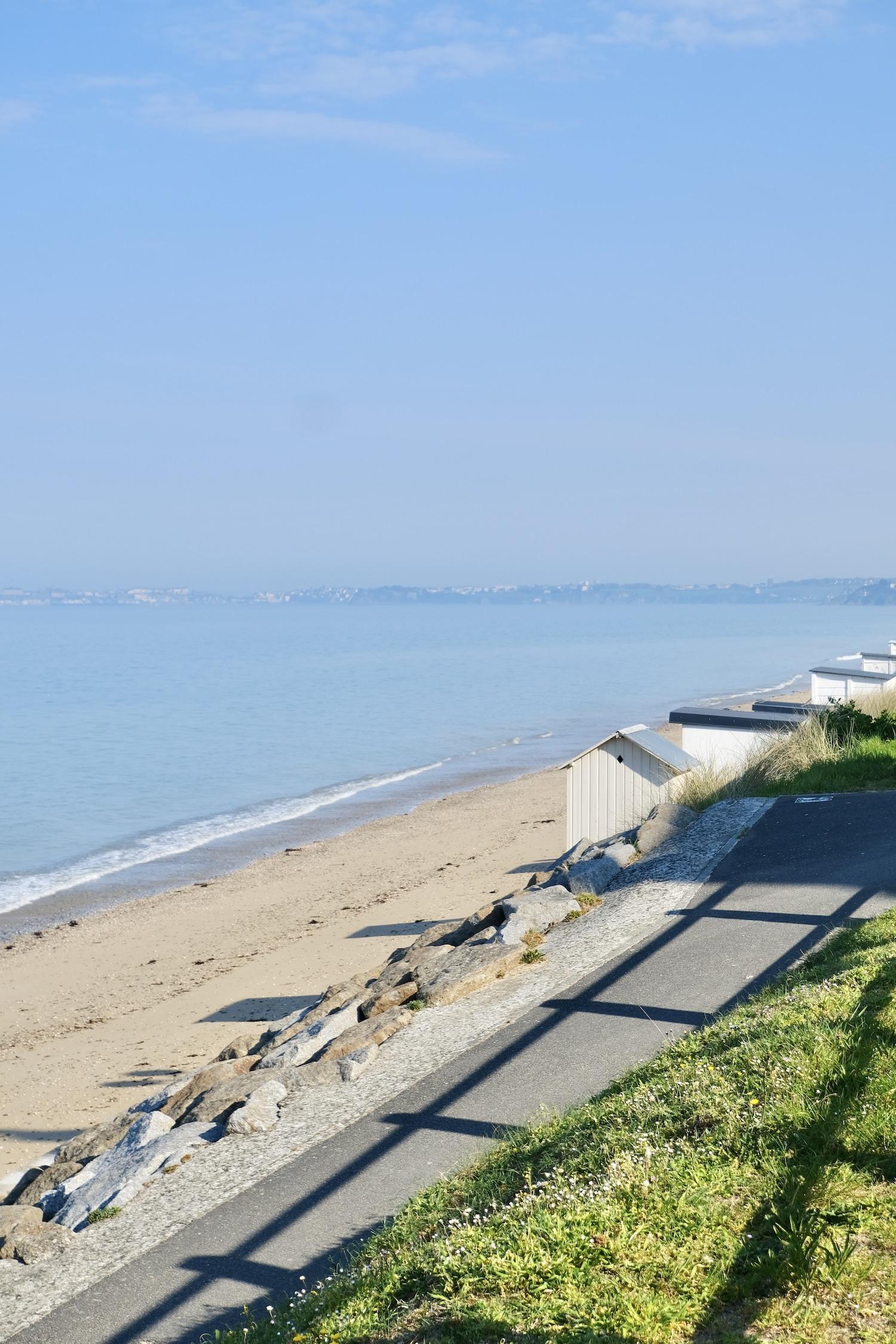 Jullouville Normandy Beach