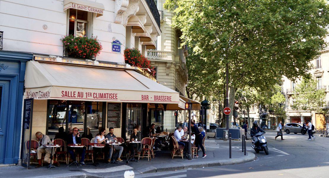 Le Saint Germain a favorite Paris café