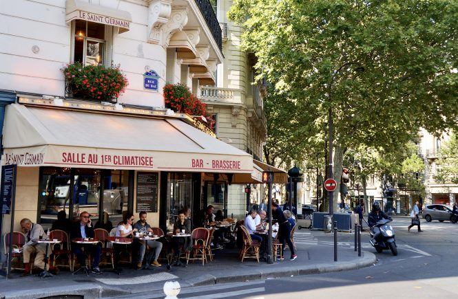Le Saint Germain a favorite Paris café