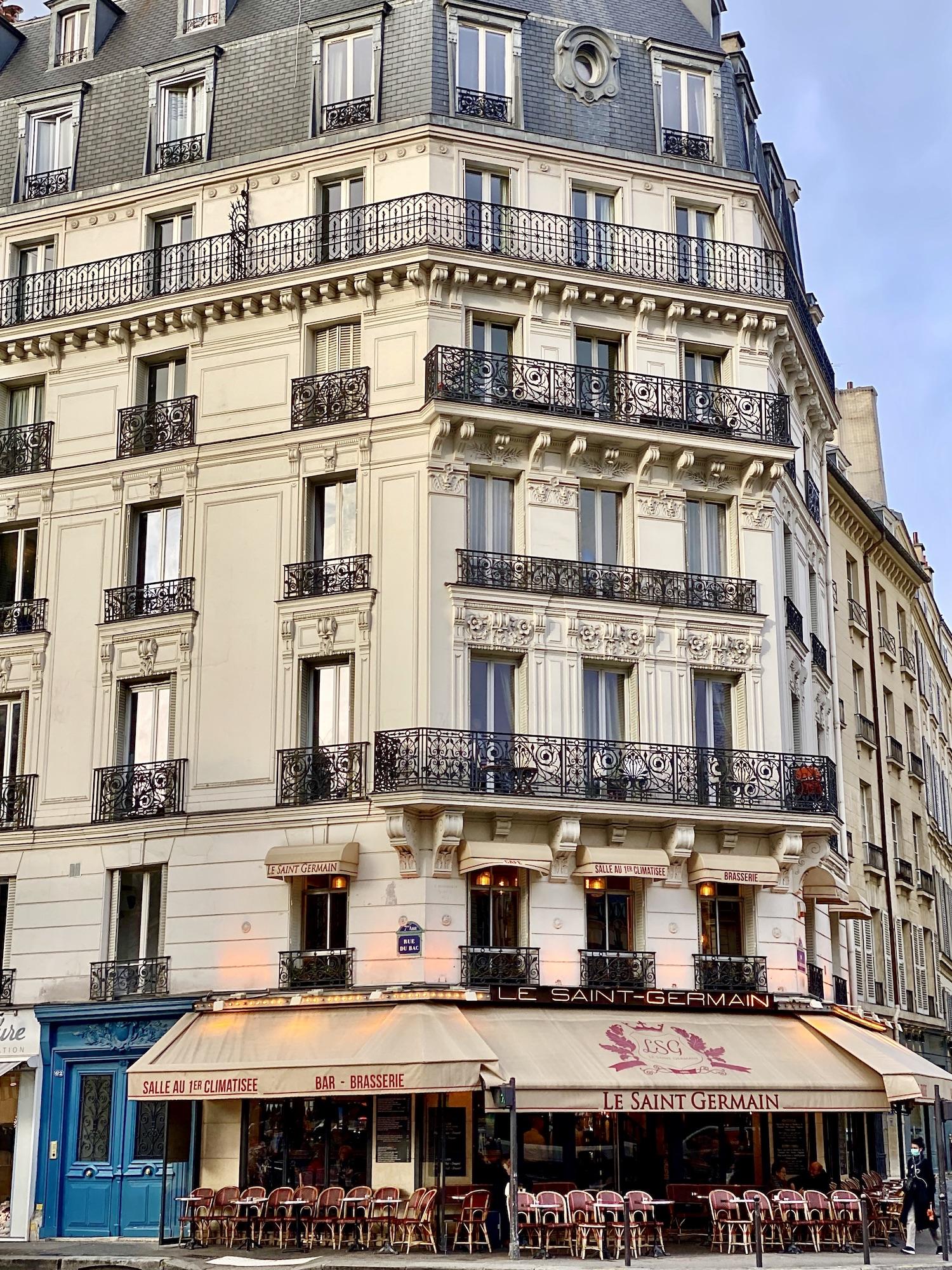 Le Saint Germain Paris Café