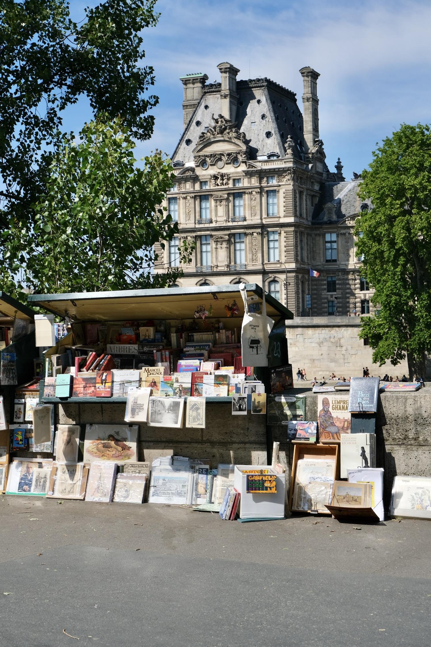 Bouquiniste in Paris