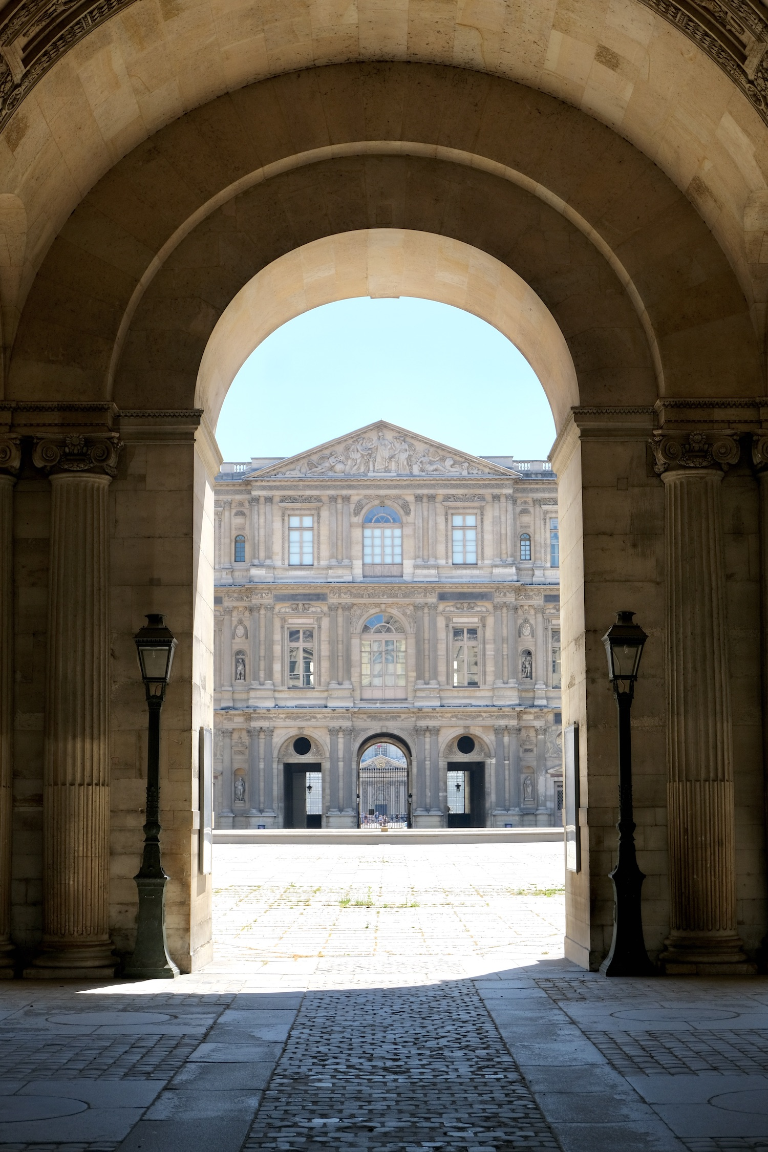 Louvre to Pont des Arts