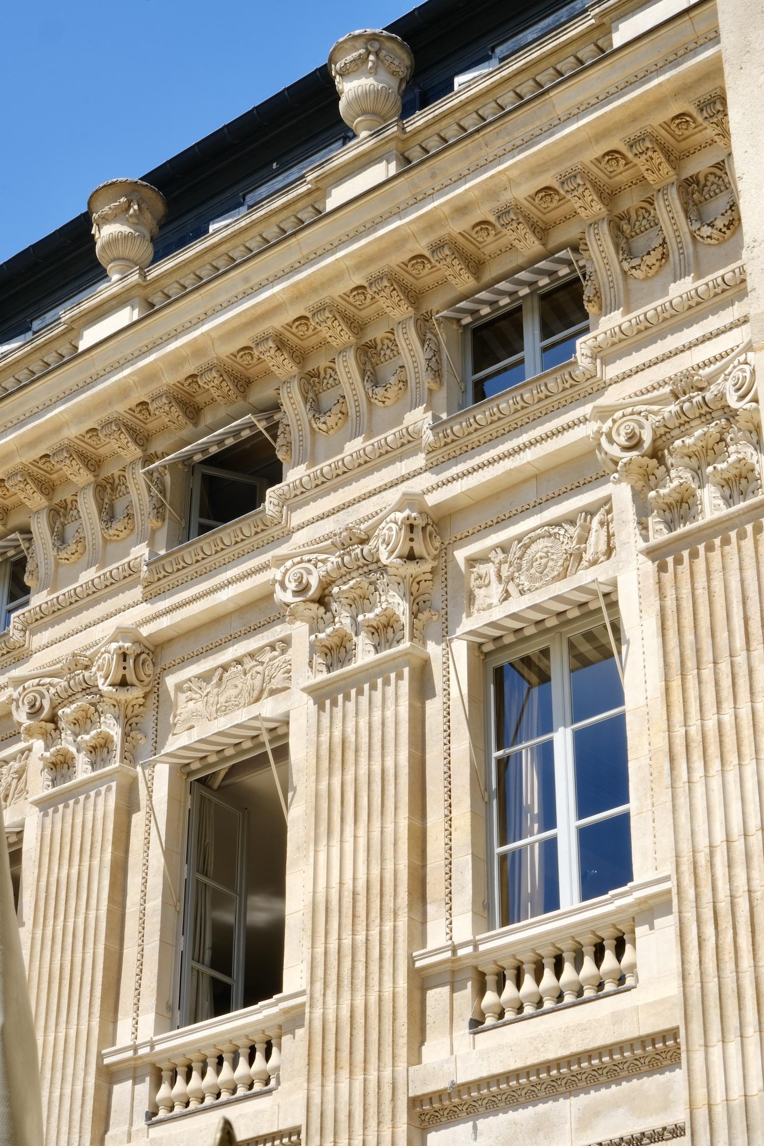 Palais-Royal apartment window