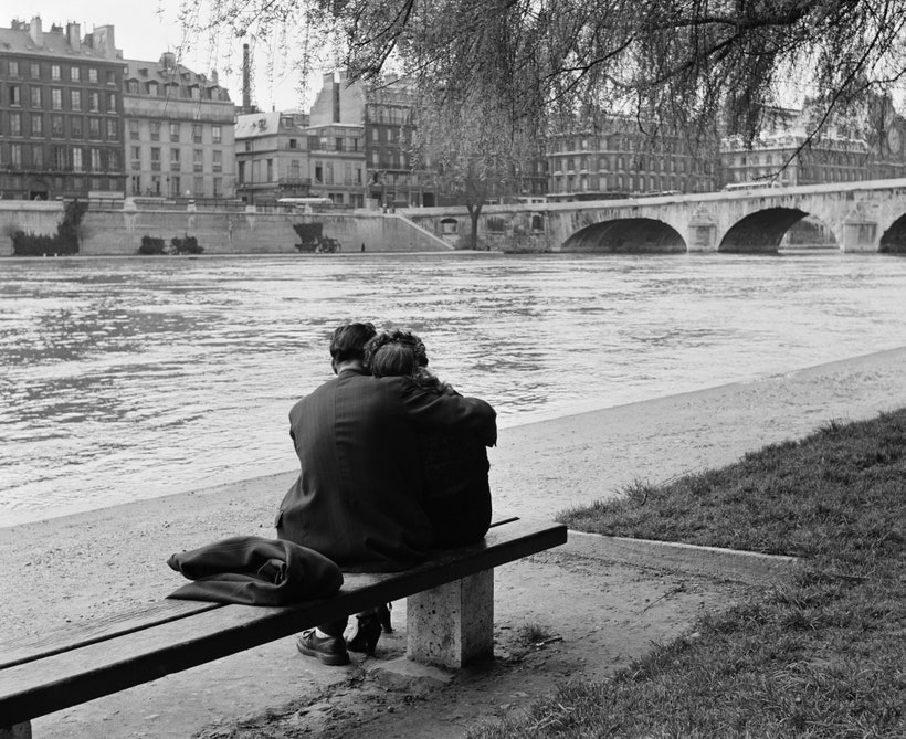 Vintage Getty Images photo of Paris