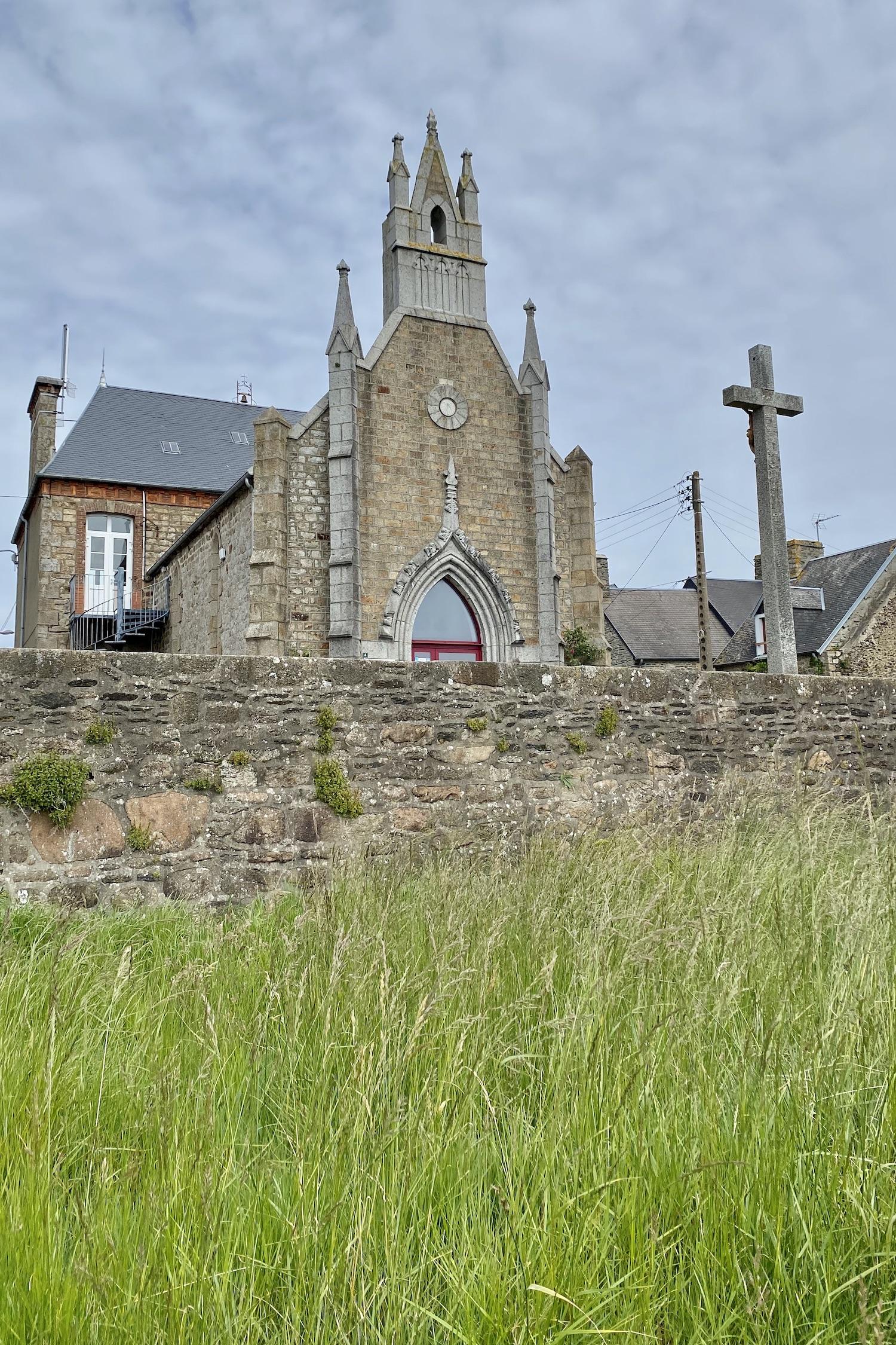 Genêts La Manche Church