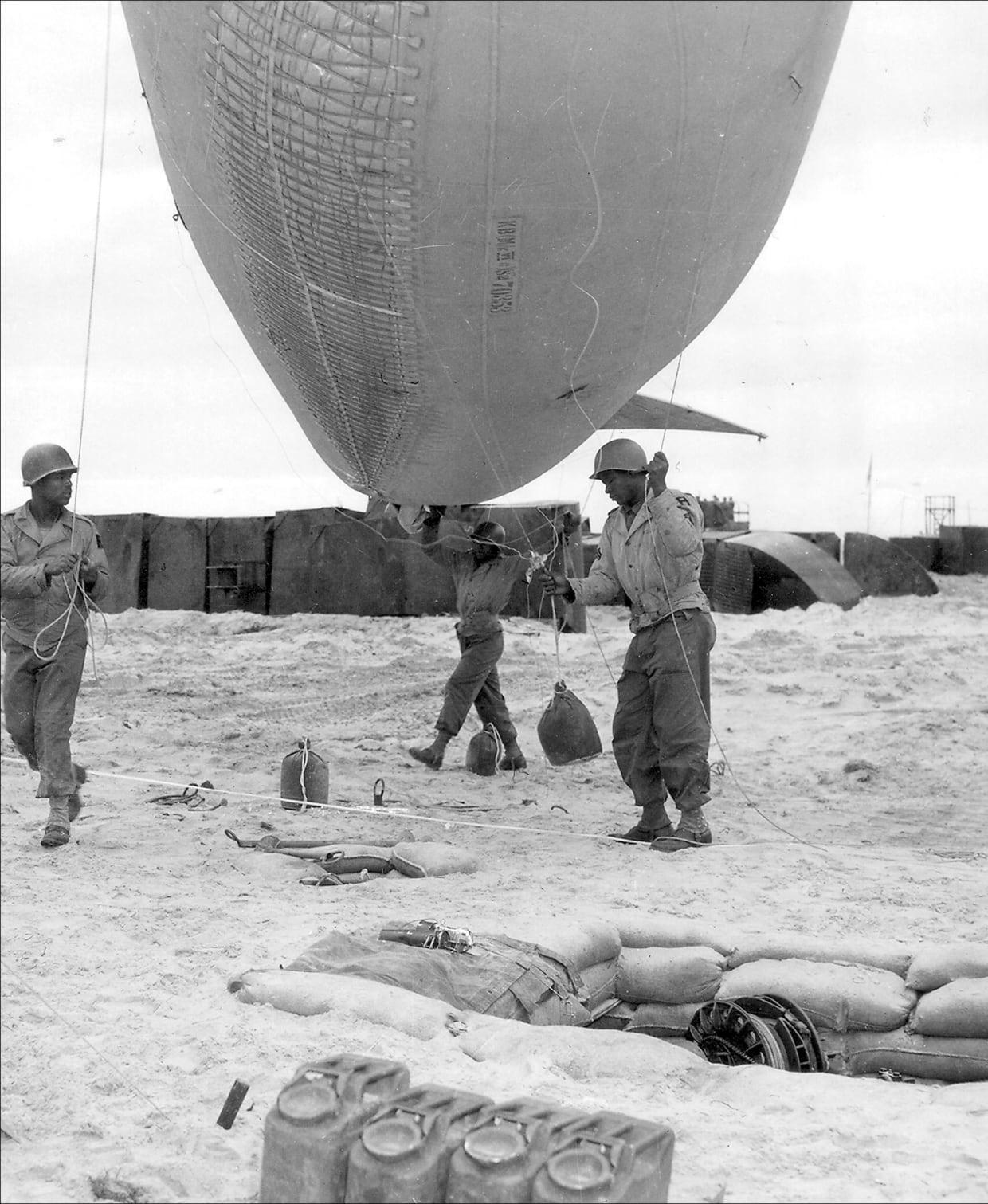 The 320th Barrage Balloon Battalion