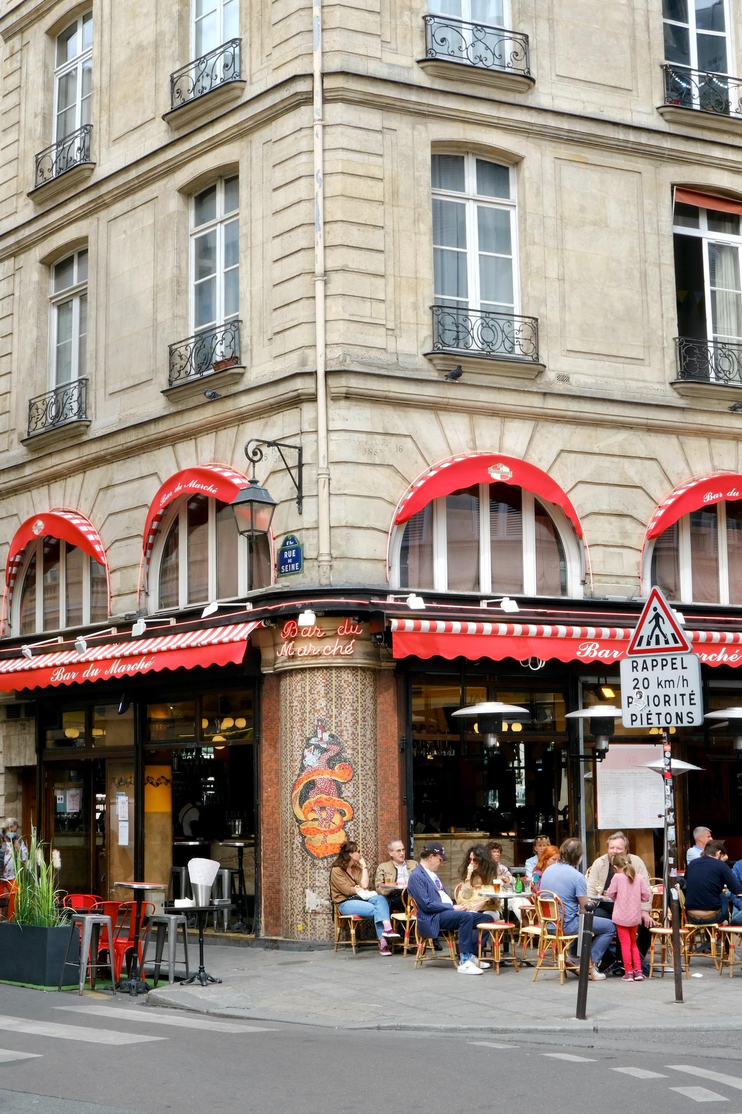 Bar du Marché on the Left Bank