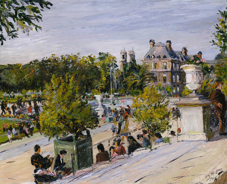Black American Artist in Paris Loïs Mailou Joneses Jardin du Luxembourg painting