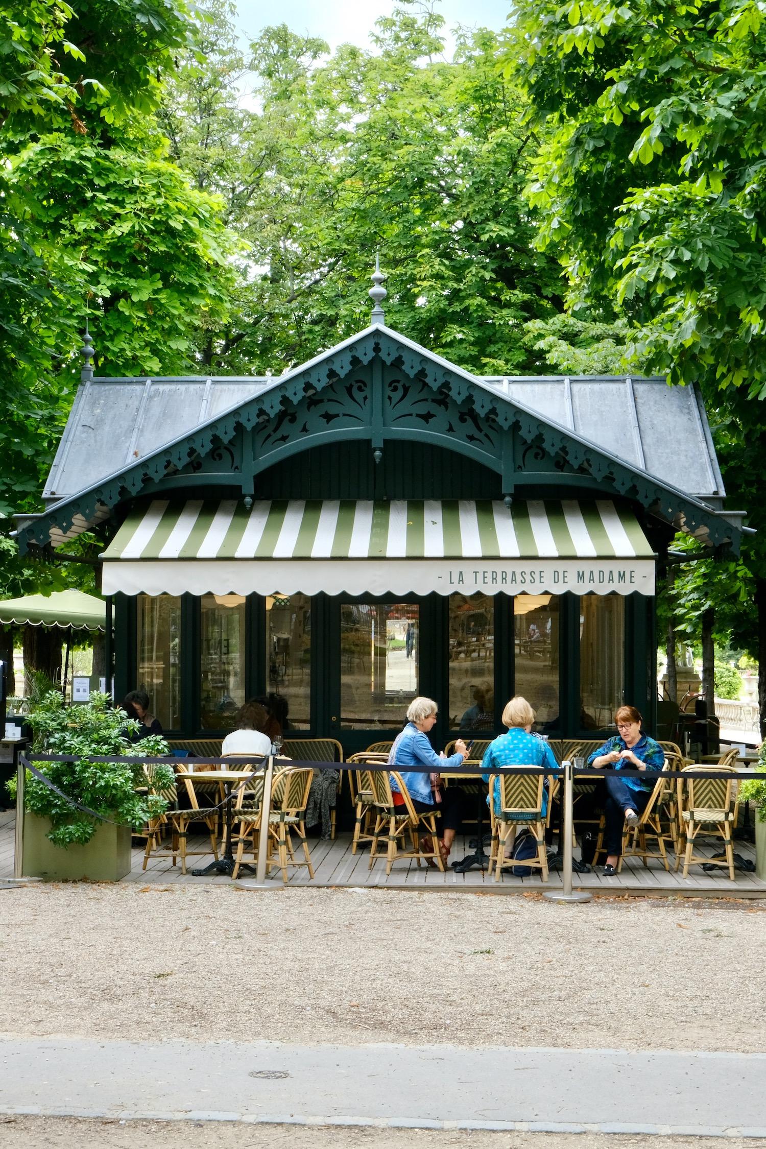 Jardin du Luxembourg terrasse