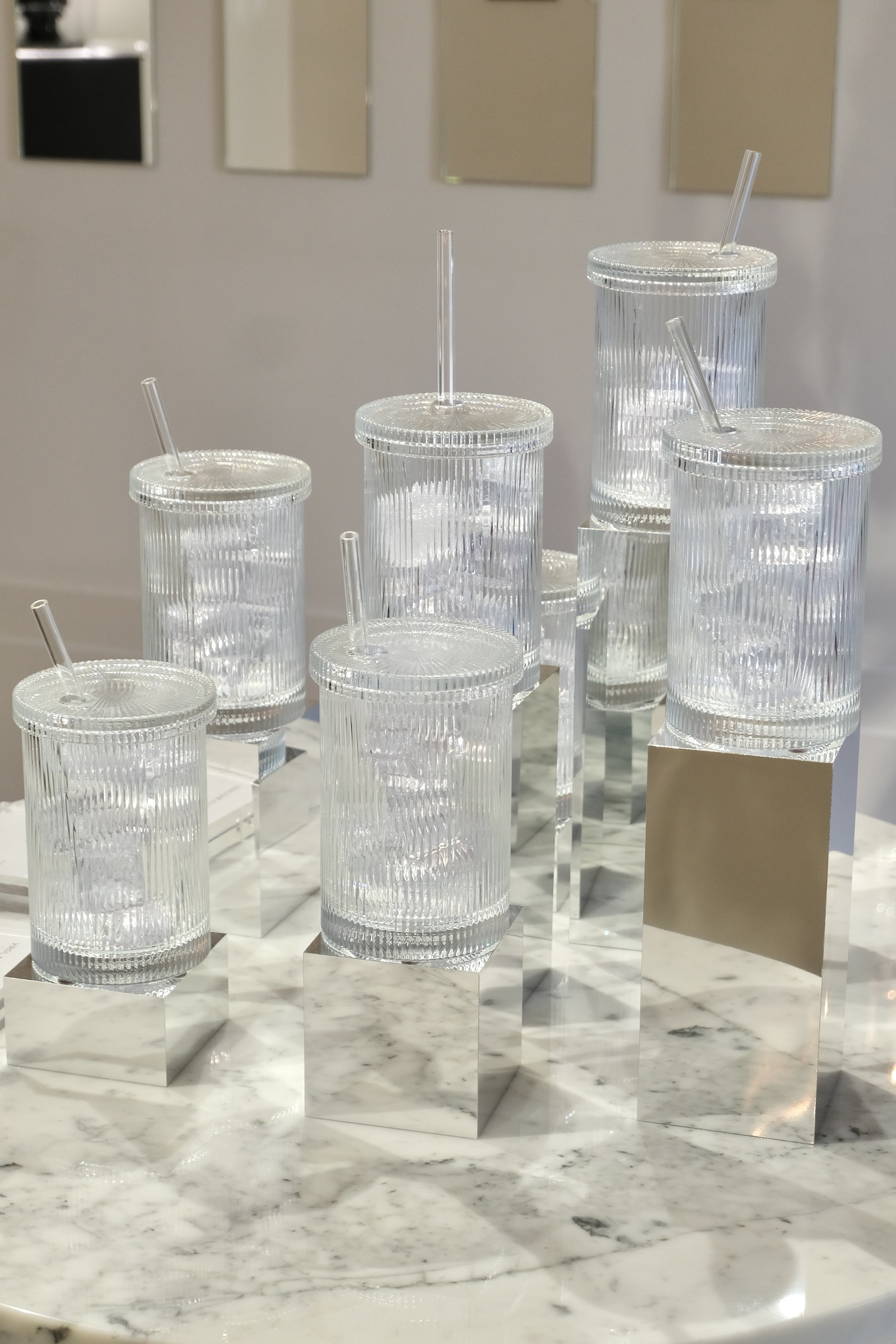 Virgil Abloh x Baccarat Crystal Clear glasses