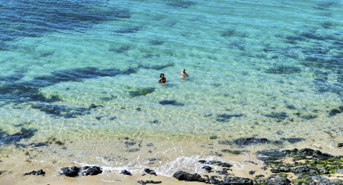 French Paradise in Normandy Swimmers Featured