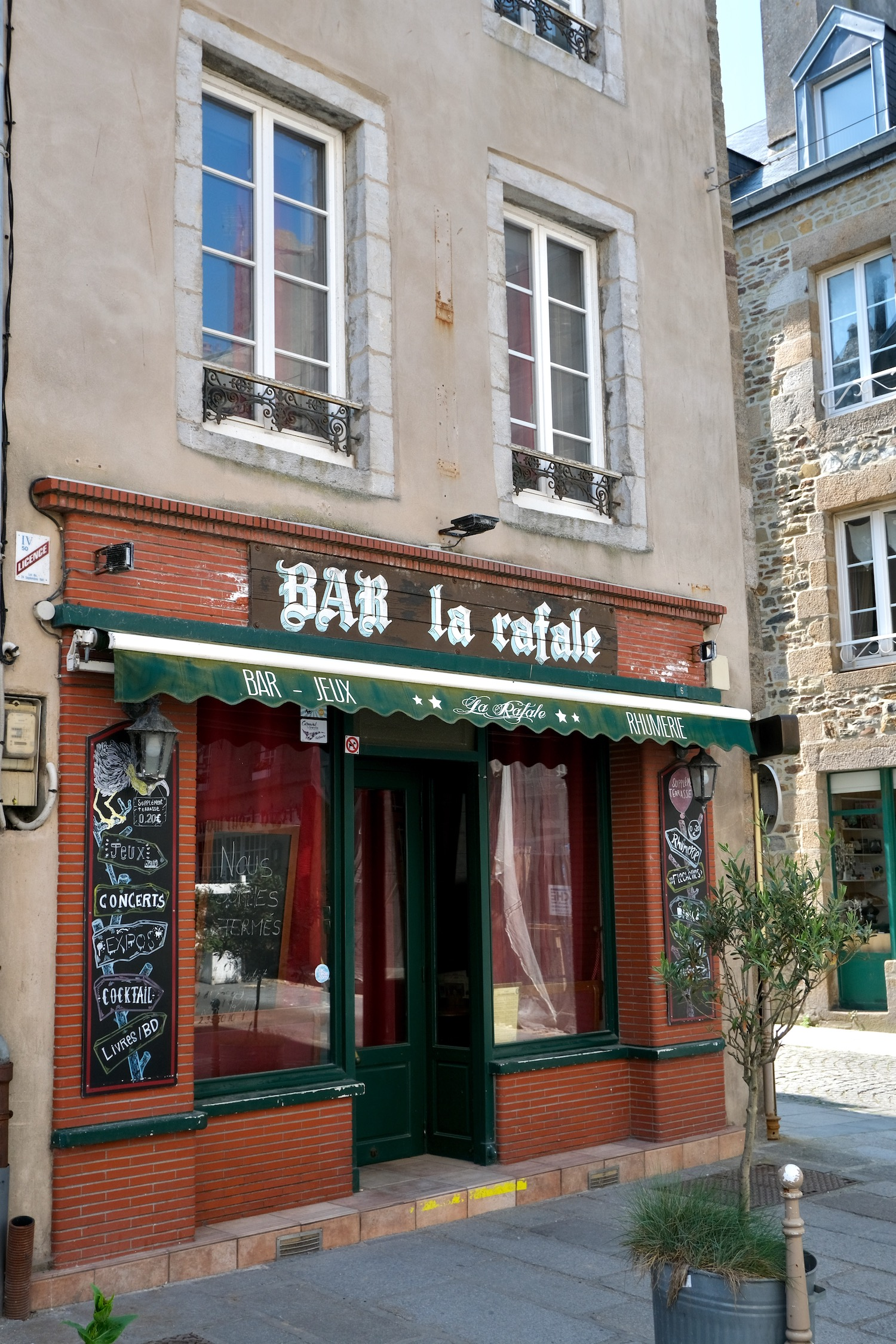 La Haute Ville Normandy bar